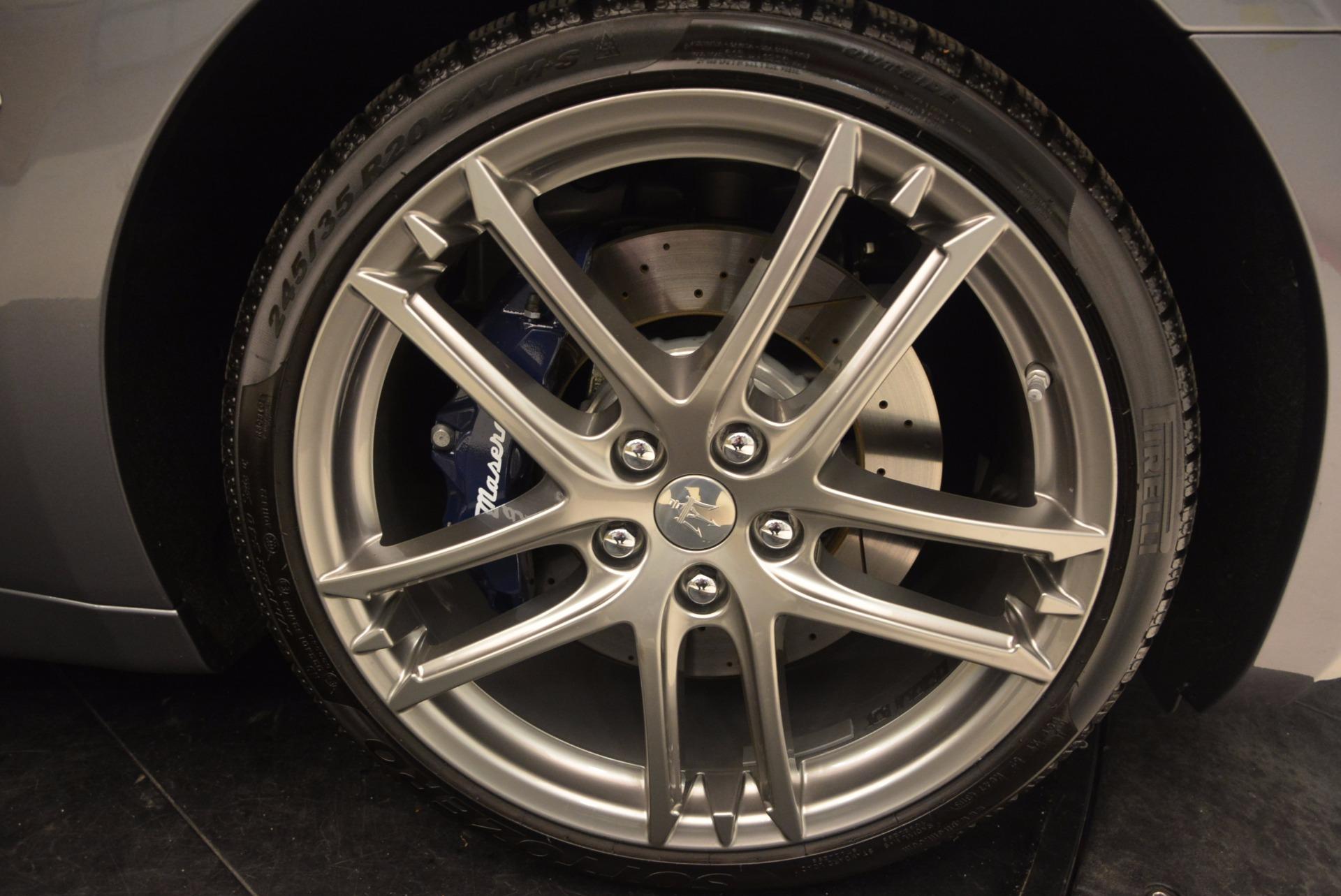 New 2018 Maserati GranTurismo Sport For Sale In Greenwich, CT 1707_p39