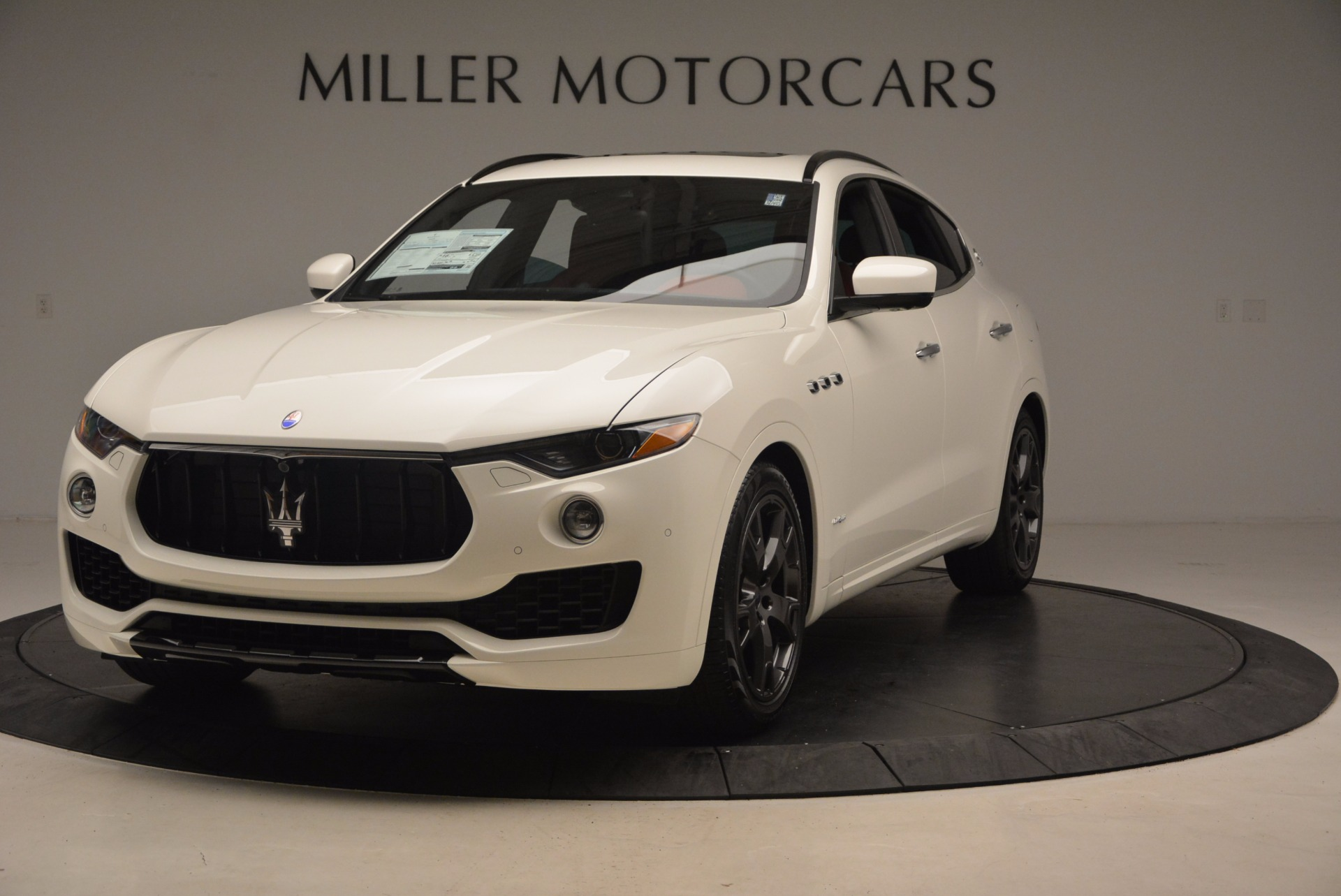 New 2018 Maserati Levante Q4 GranLusso For Sale In Greenwich, CT 1708_main