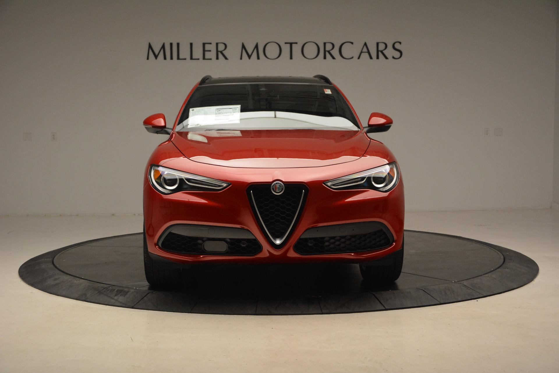 New 2018 Alfa Romeo Stelvio Ti Sport Q4 For Sale In Greenwich, CT 1732_p12