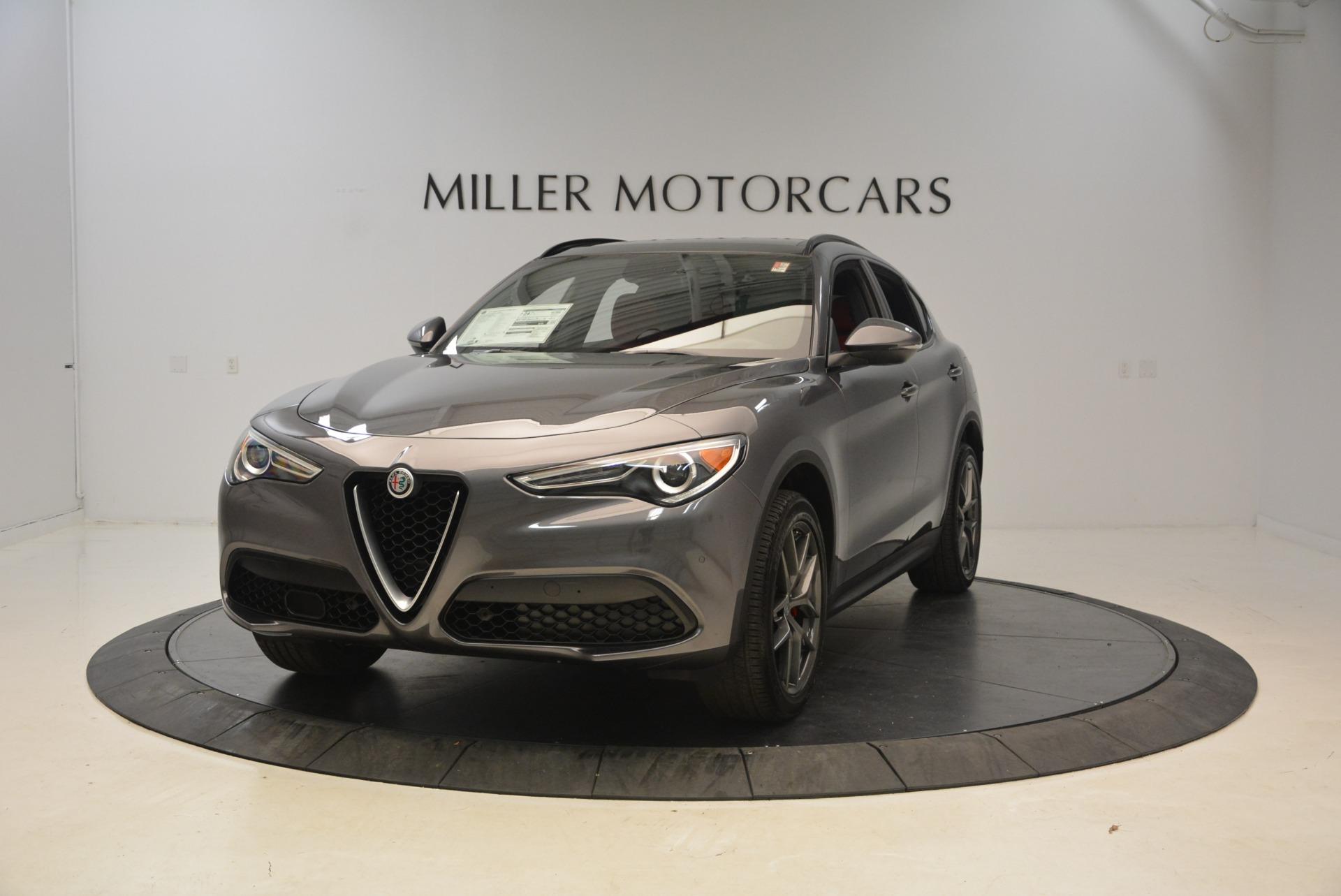 New 2018 Alfa Romeo Stelvio Ti Sport Q4 For Sale In Greenwich, CT 1740_main