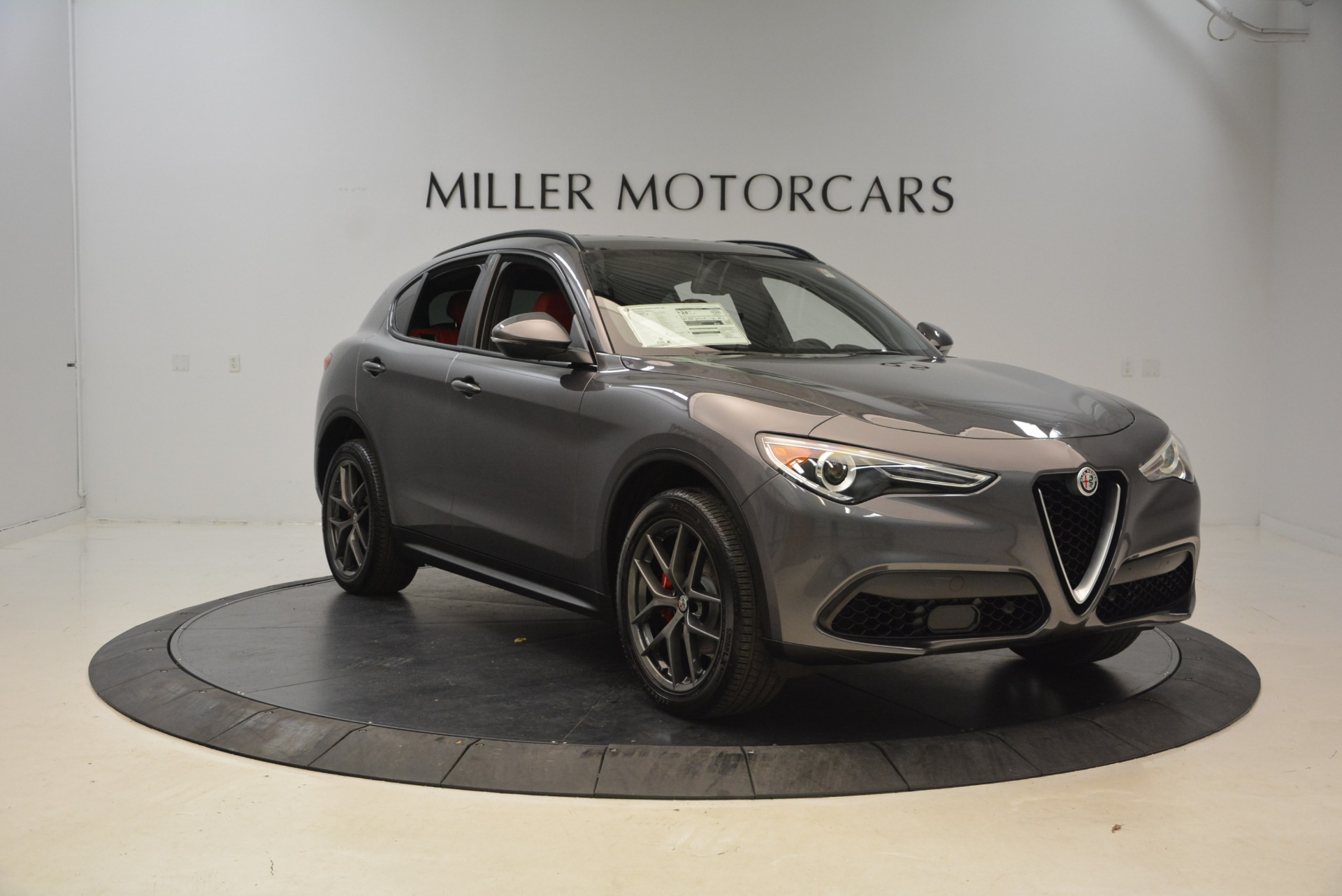 New 2018 Alfa Romeo Stelvio Ti Sport Q4 For Sale In Greenwich, CT 1740_p11