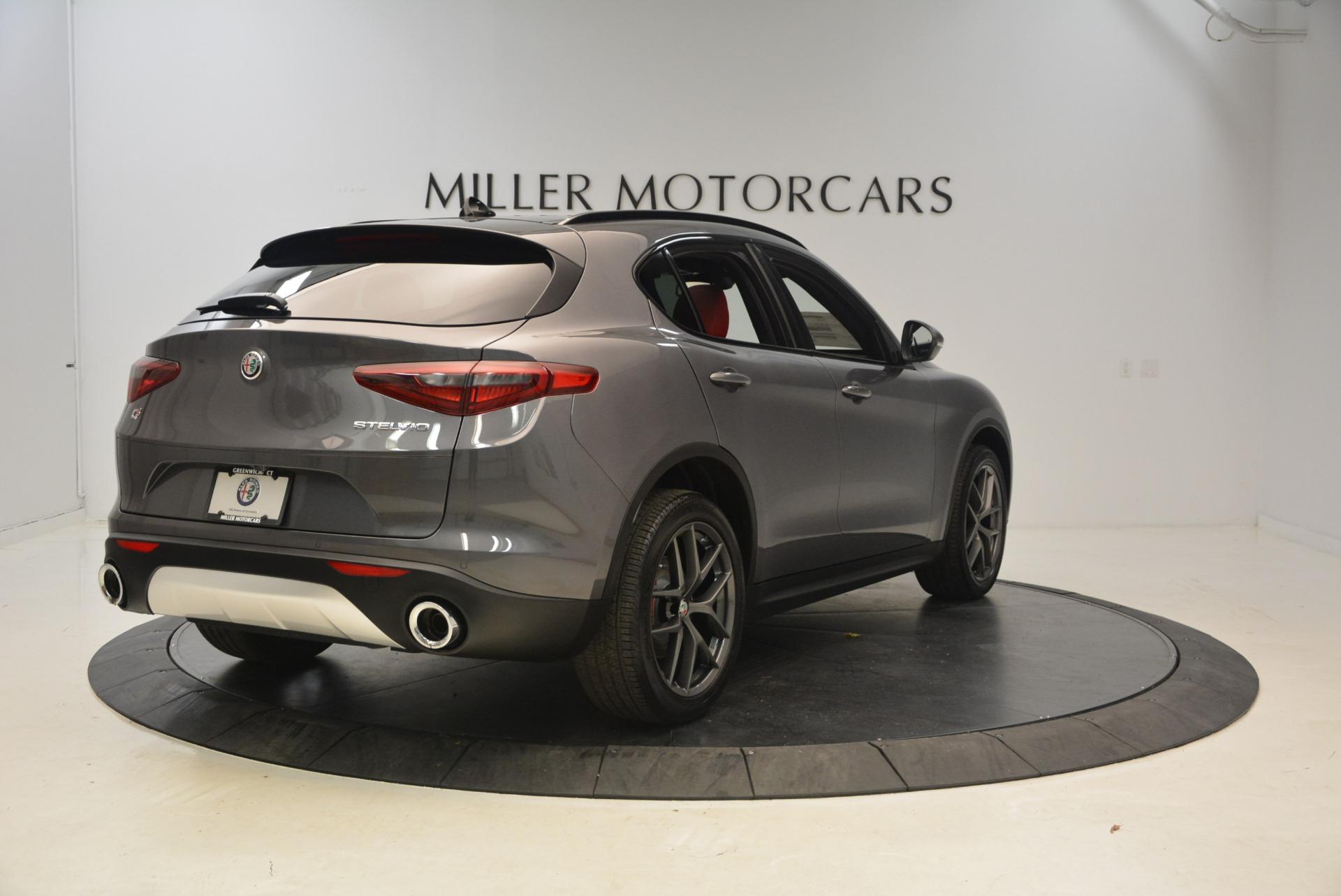 New 2018 Alfa Romeo Stelvio Ti Sport Q4 For Sale In Greenwich, CT 1740_p7