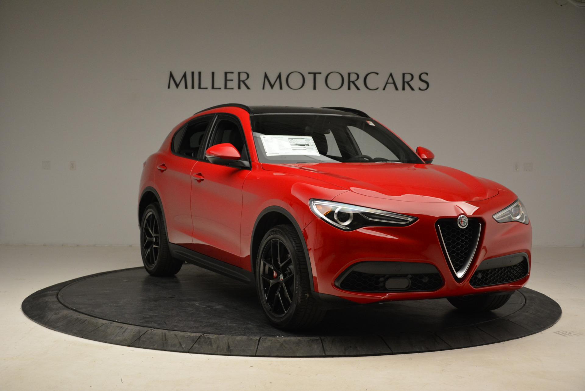 New 2018 Alfa Romeo Stelvio Ti Sport Q4 For Sale In Greenwich, CT 1742_p11