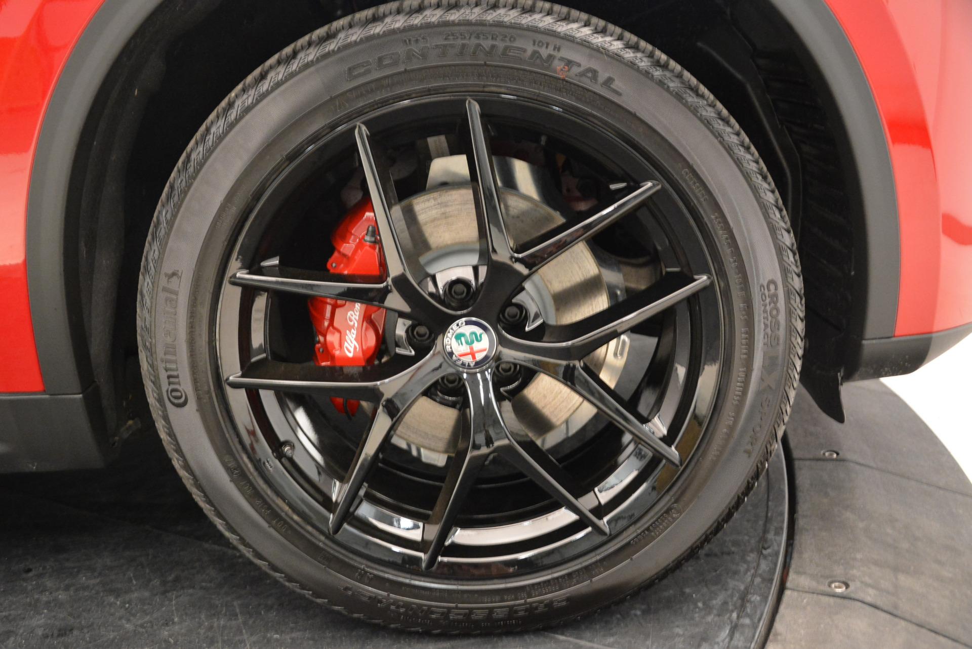 New 2018 Alfa Romeo Stelvio Ti Sport Q4 For Sale In Greenwich, CT 1742_p25