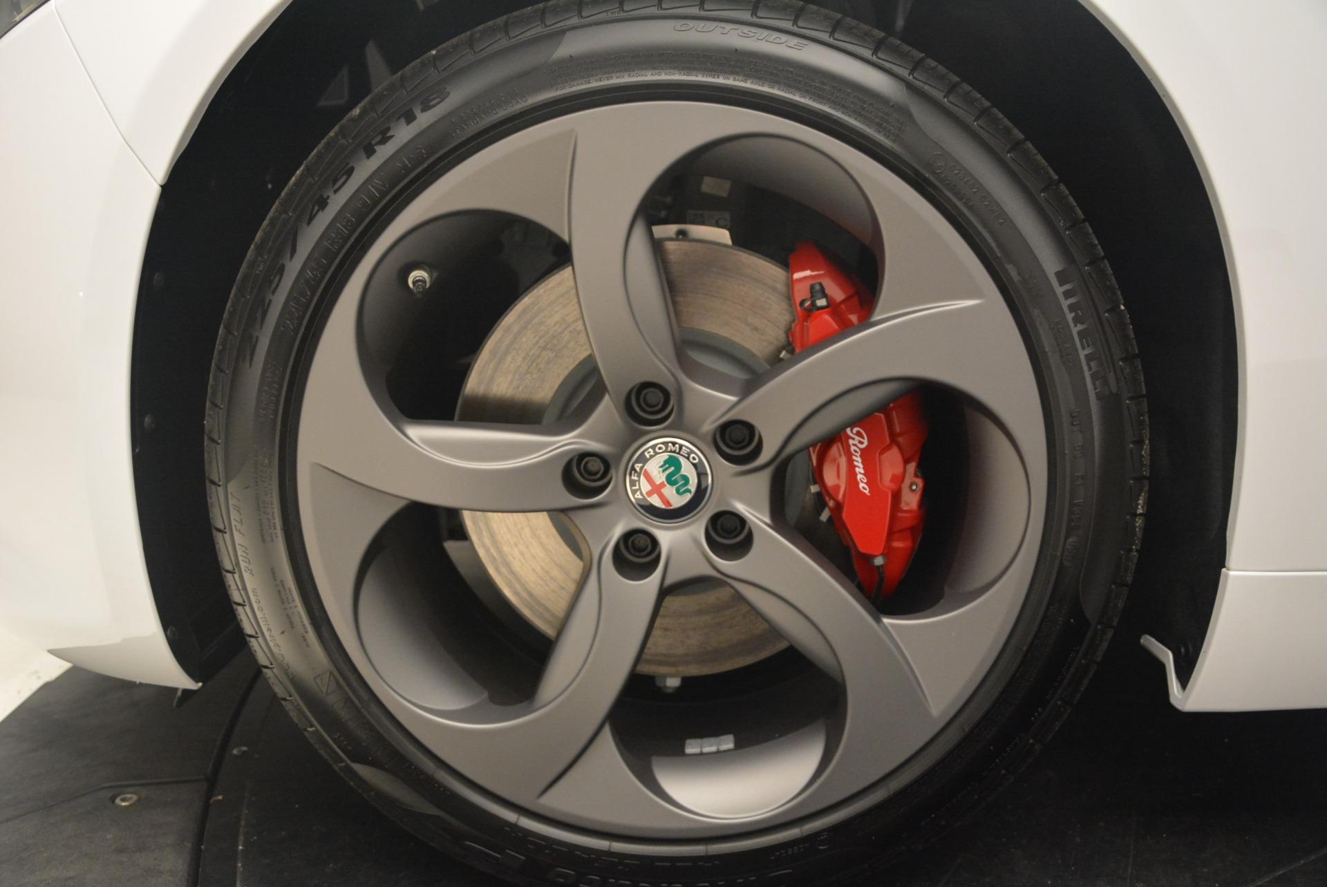New 2018 Alfa Romeo Giulia Ti Sport Q4 For Sale In Greenwich, CT 1745_p14