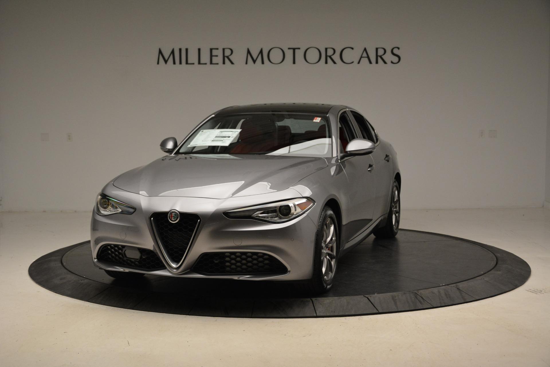New 2018 Alfa Romeo Giulia Q4 For Sale In Greenwich, CT 1756_main