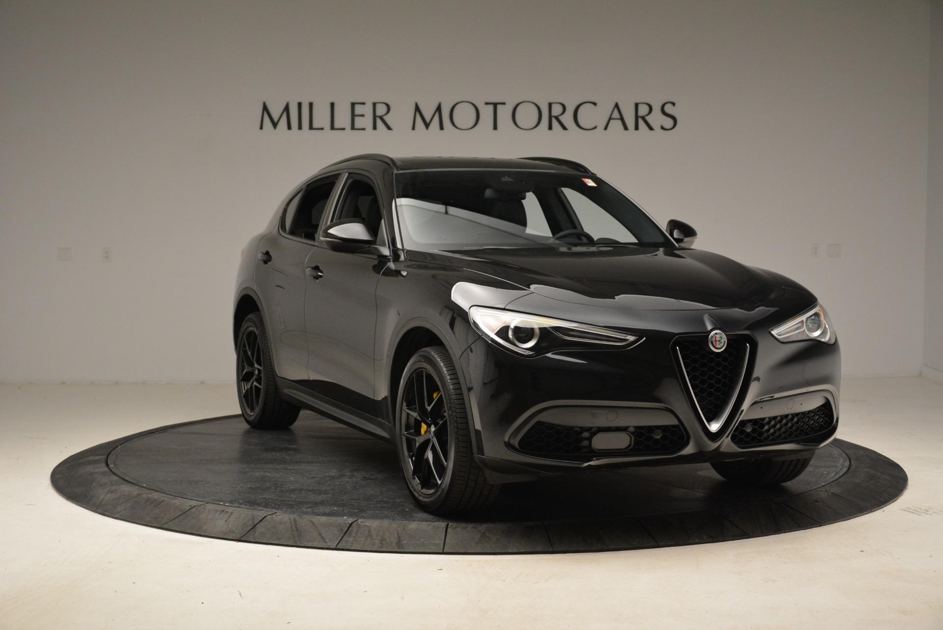 New 2018 Alfa Romeo Stelvio Ti Sport Q4 For Sale In Greenwich, CT 1760_p11