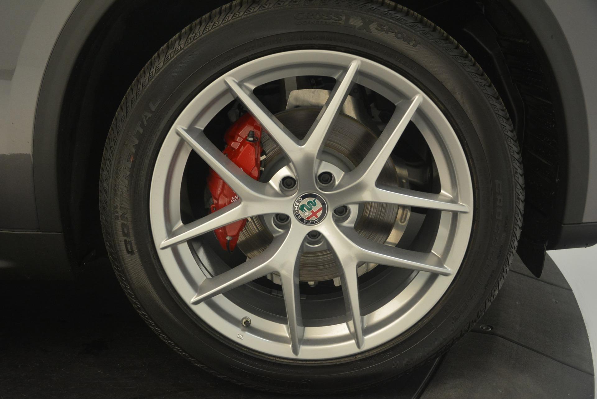 New 2018 Alfa Romeo Stelvio Sport Q4 For Sale In Greenwich, CT 1761_p25