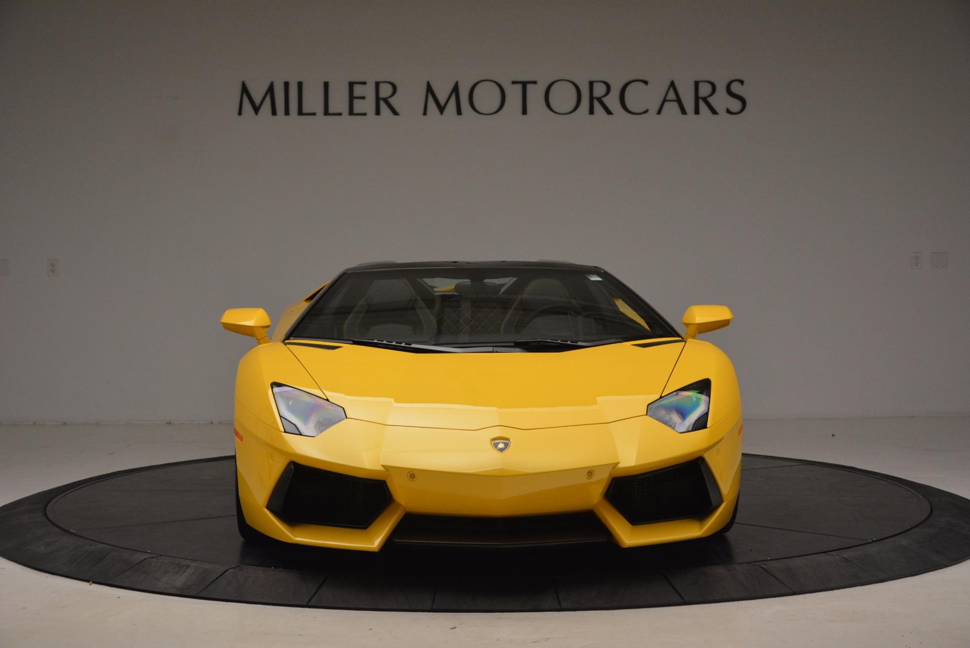 Used 2015 Lamborghini Aventador LP 700-4 Roadster For Sale In Greenwich, CT 1774_p13