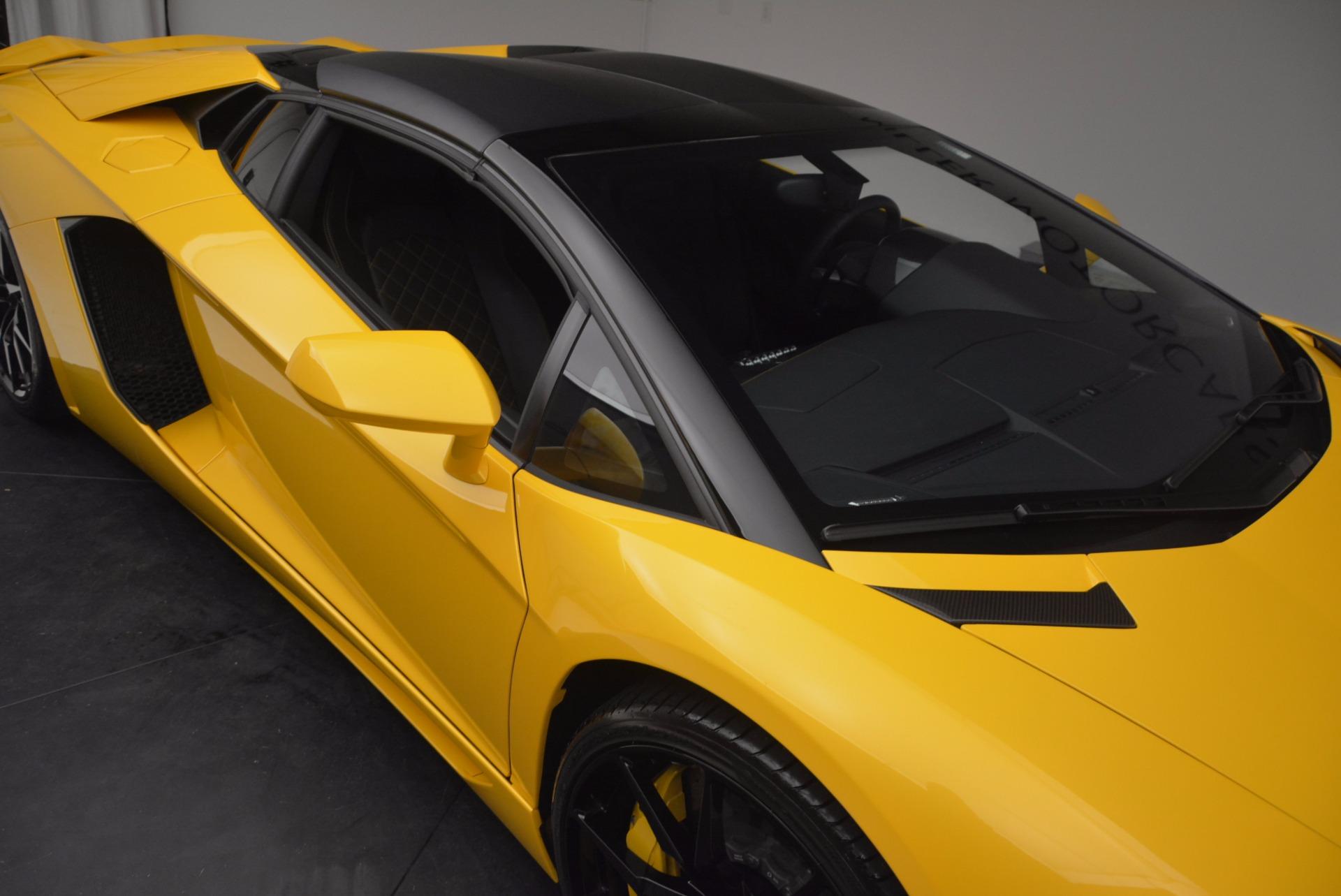 Used 2015 Lamborghini Aventador LP 700-4 Roadster For Sale In Greenwich, CT 1774_p30
