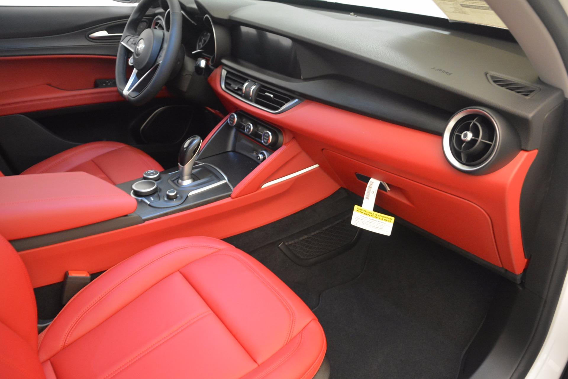 New 2018 Alfa Romeo Stelvio Ti Sport Q4 For Sale In Greenwich, CT 1777_p17