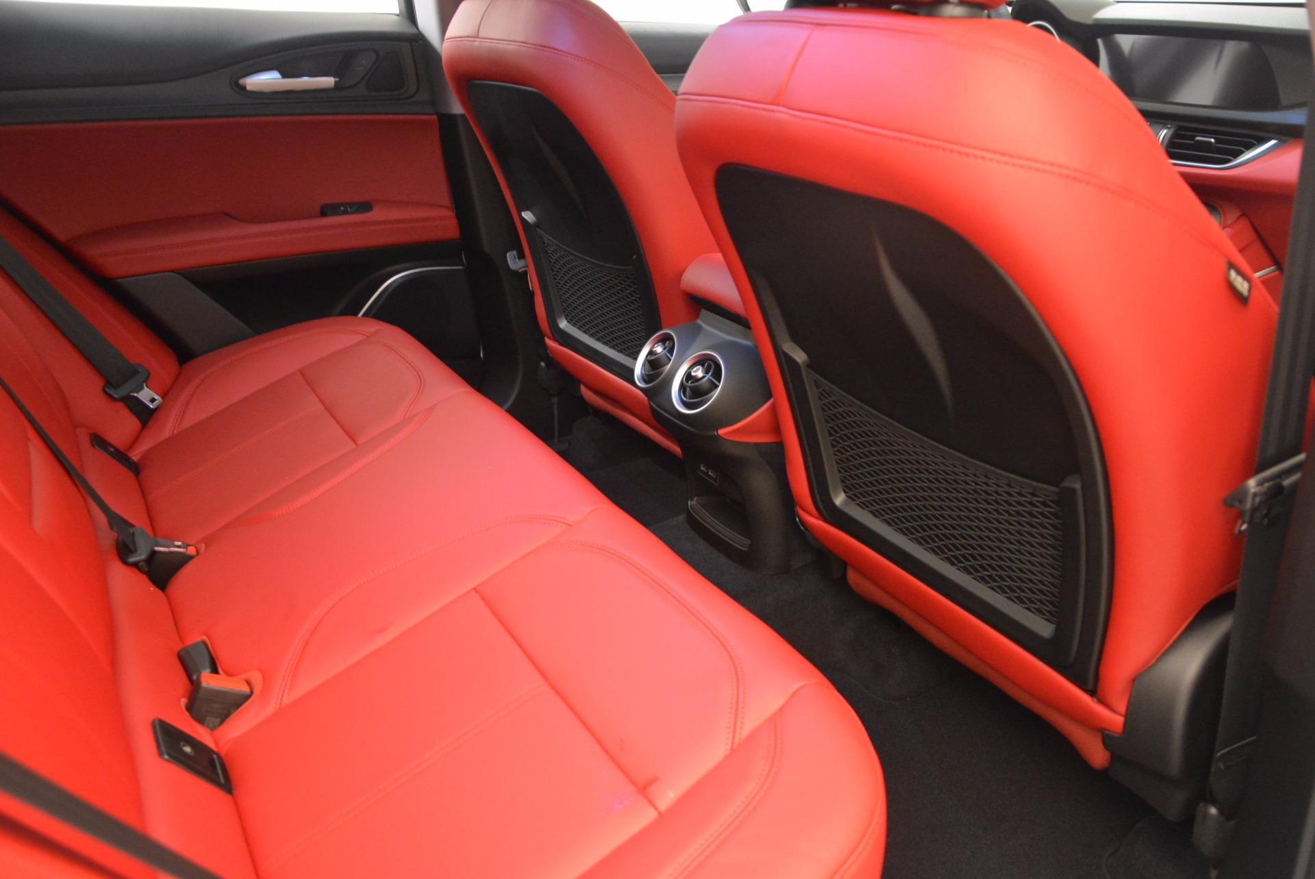 New 2018 Alfa Romeo Stelvio Ti Q4 For Sale In Greenwich, CT 1779_p22