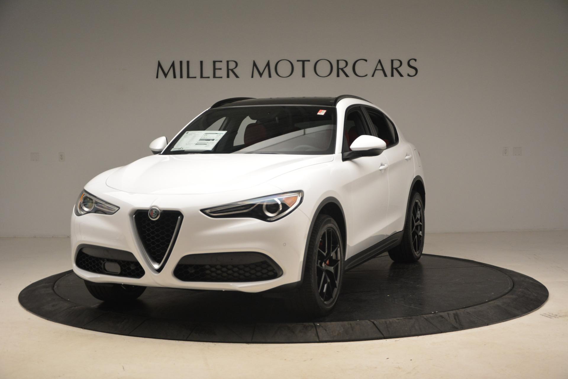 New 2018 Alfa Romeo Stelvio Ti Sport Q4 For Sale In Greenwich, CT 1783_main