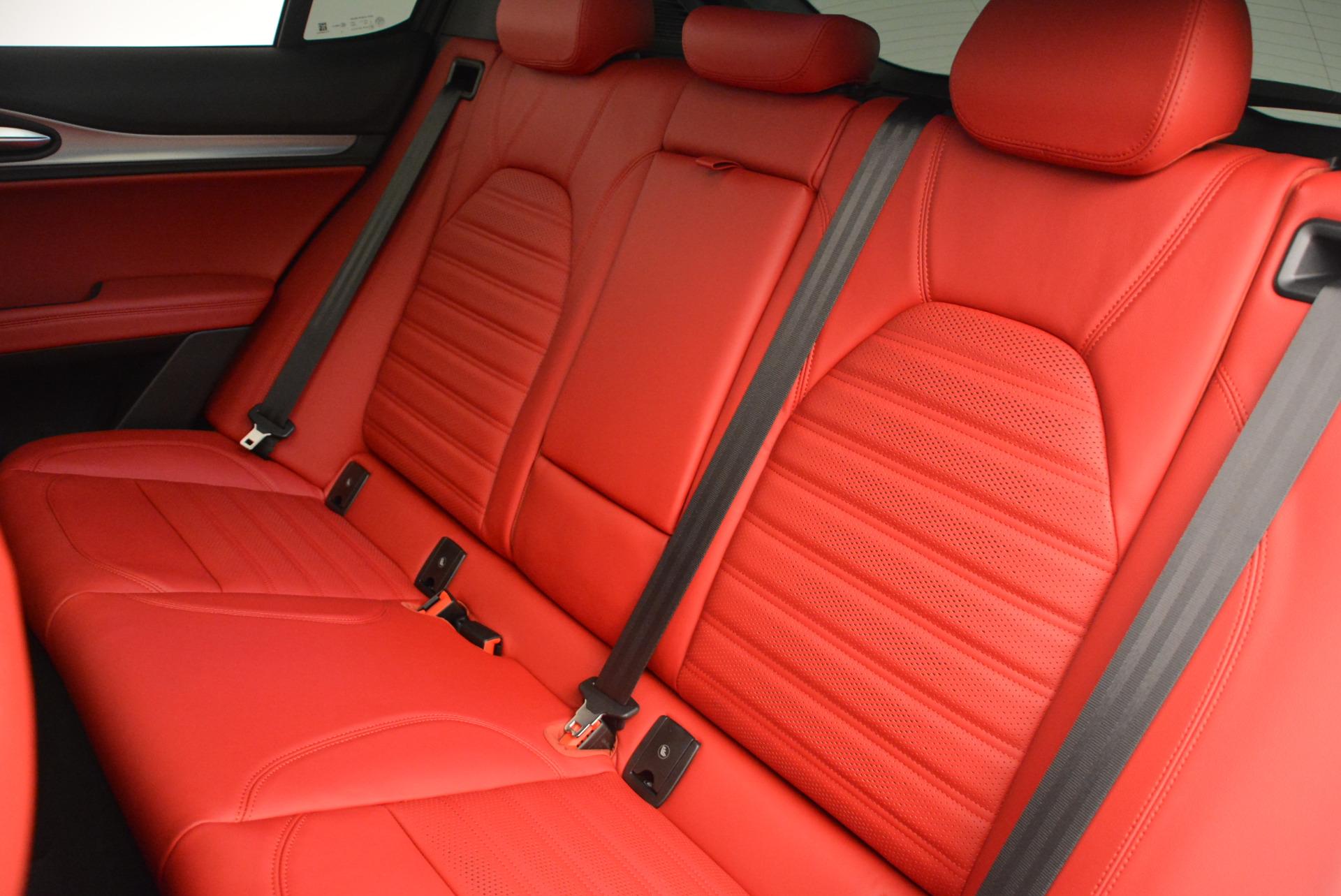 New 2018 Alfa Romeo Stelvio Ti Sport Q4 For Sale In Greenwich, CT 1783_p18