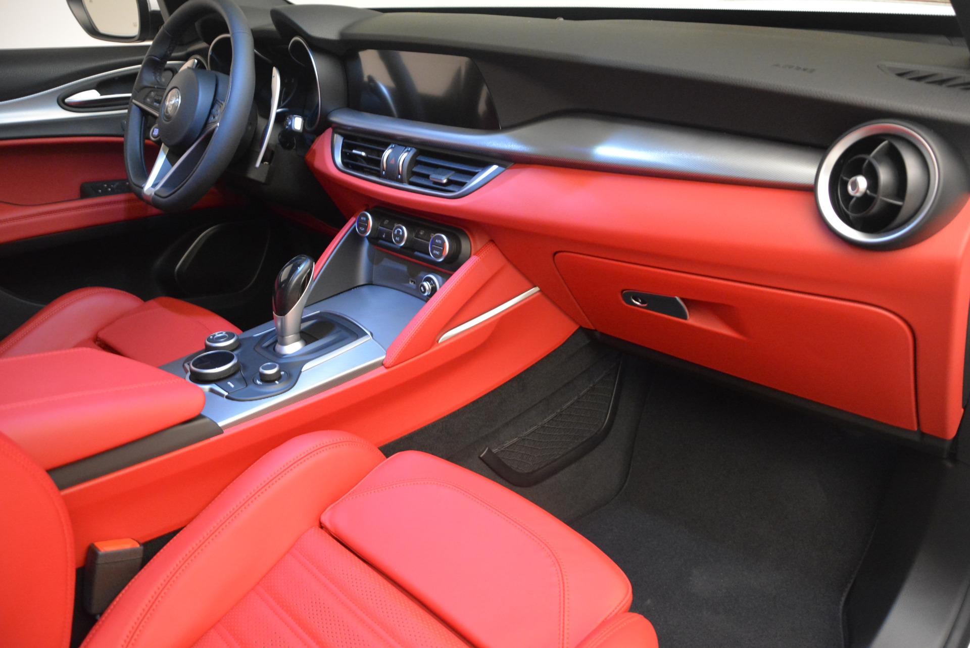 New 2018 Alfa Romeo Stelvio Ti Sport Q4 For Sale In Greenwich, CT 1783_p19