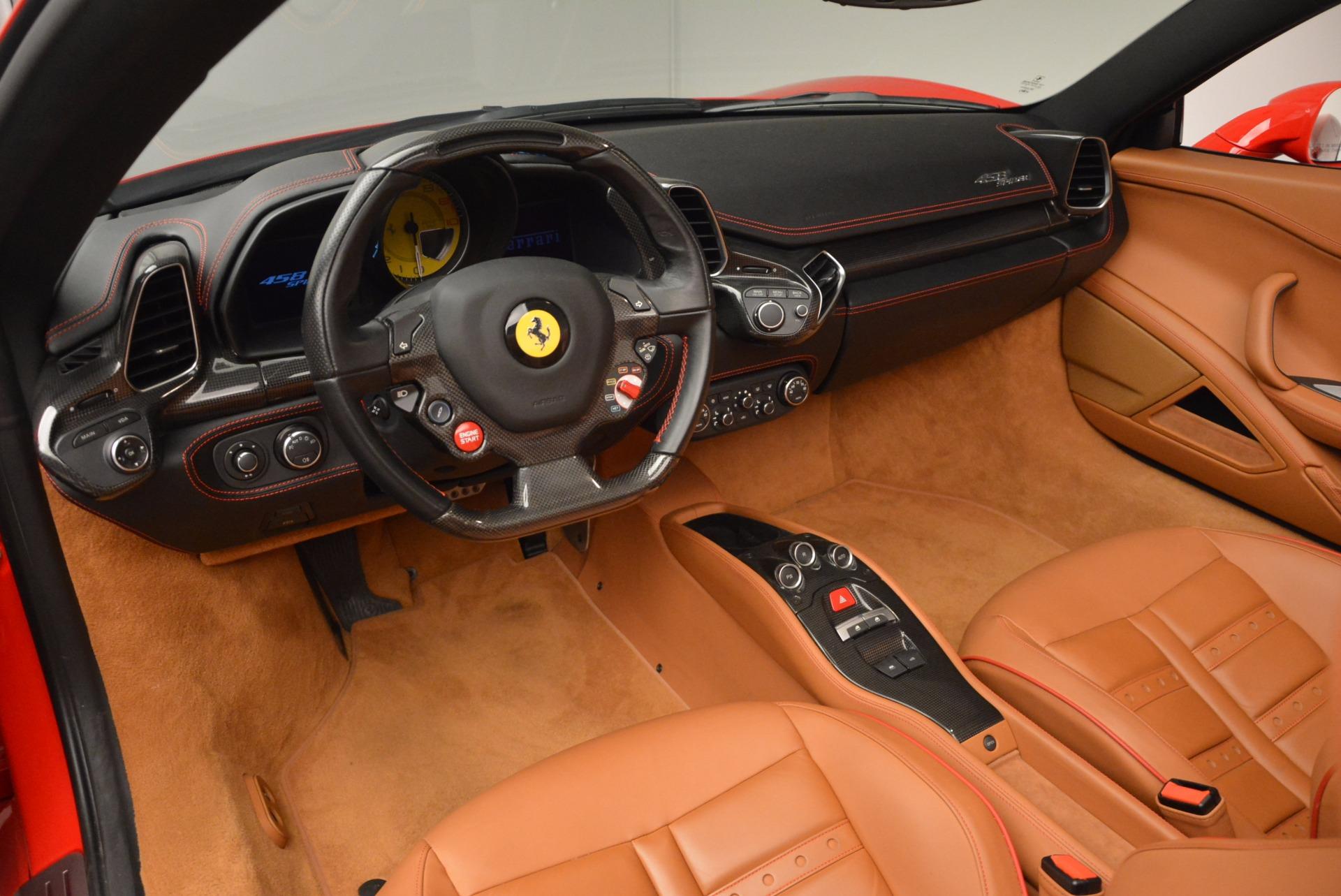Used 2013 Ferrari 458 Spider  For Sale In Greenwich, CT 1784_p25