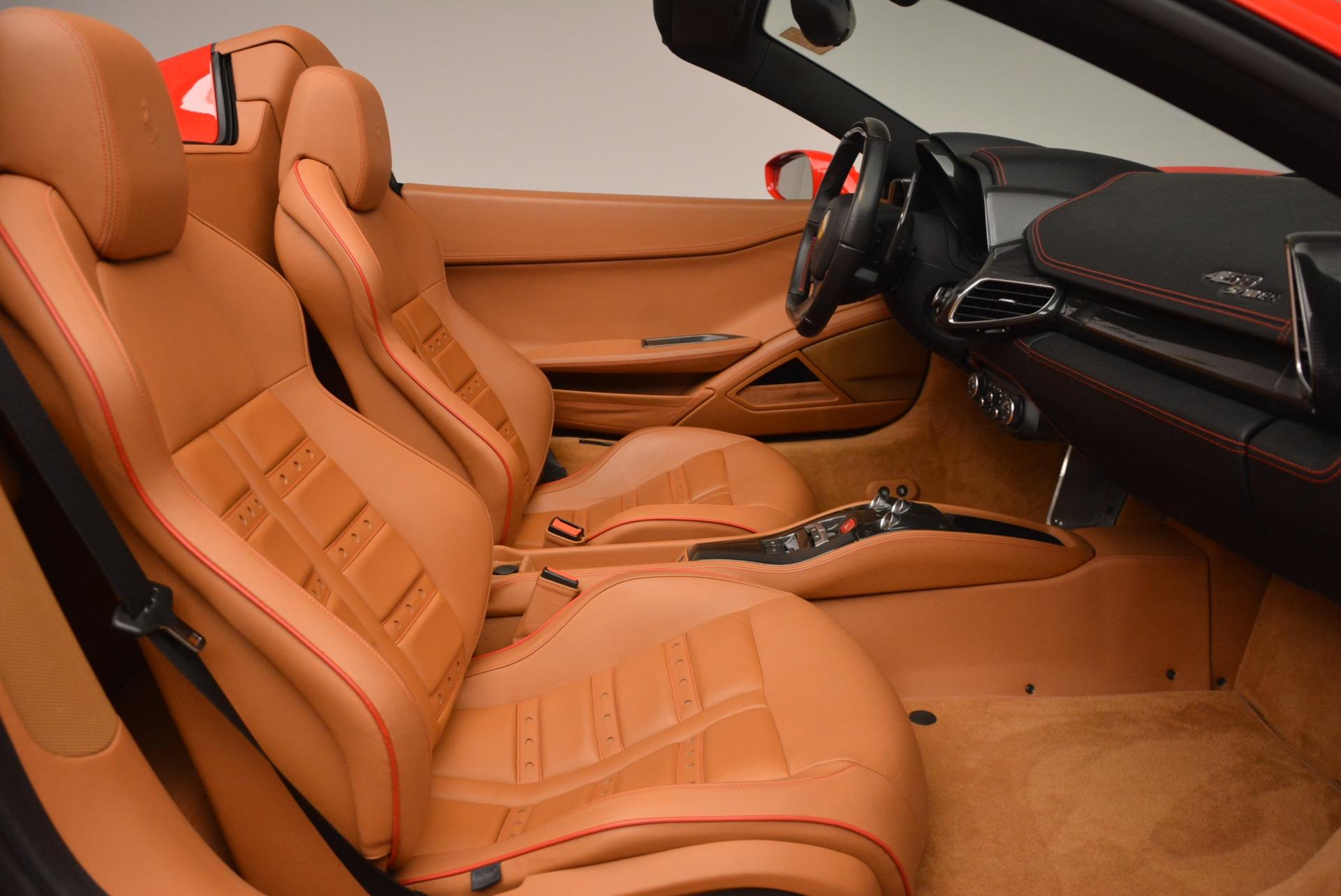 Used 2013 Ferrari 458 Spider  For Sale In Greenwich, CT 1784_p30