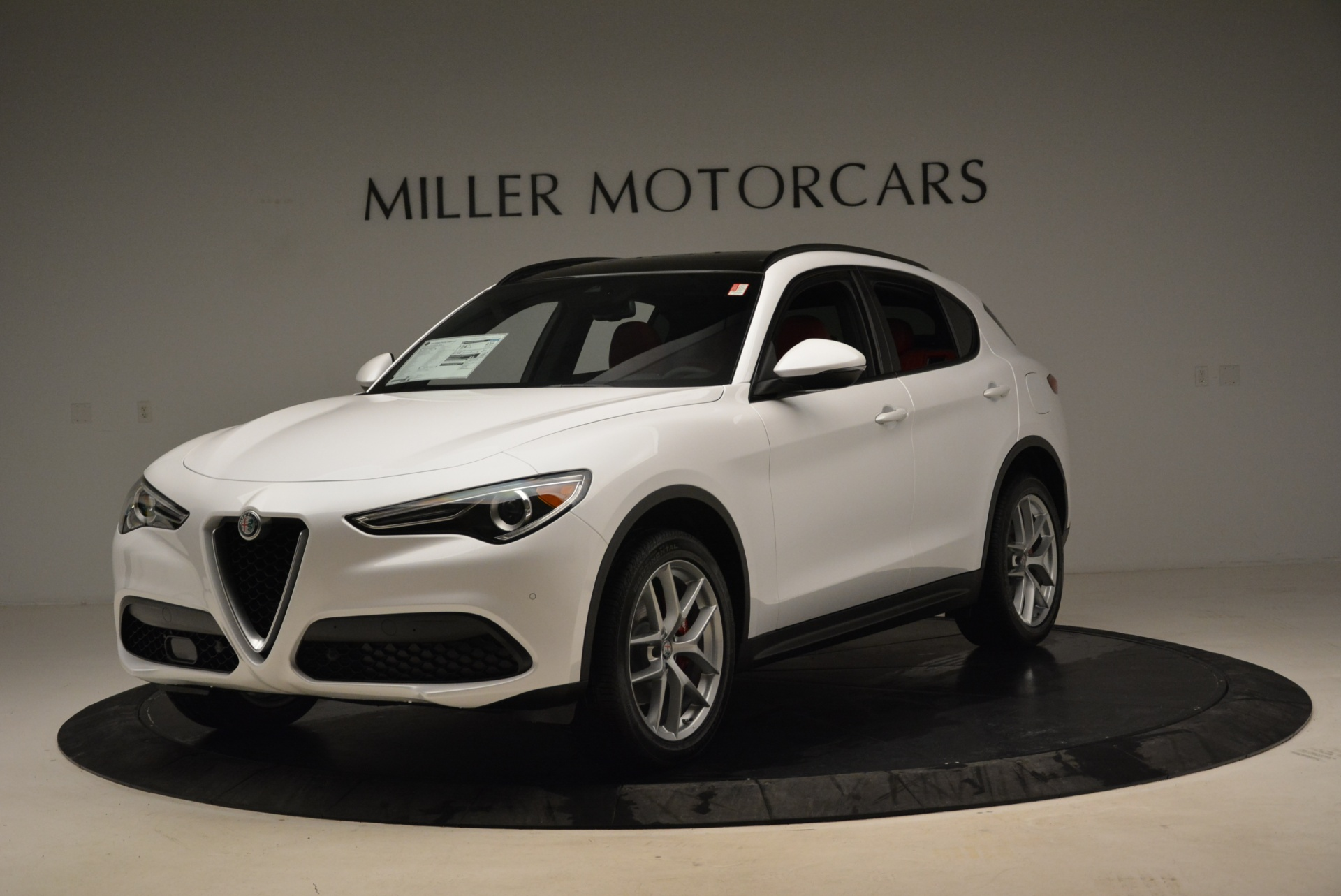 New 2018 Alfa Romeo Stelvio Ti Sport Q4 For Sale In Greenwich, CT 1787_main