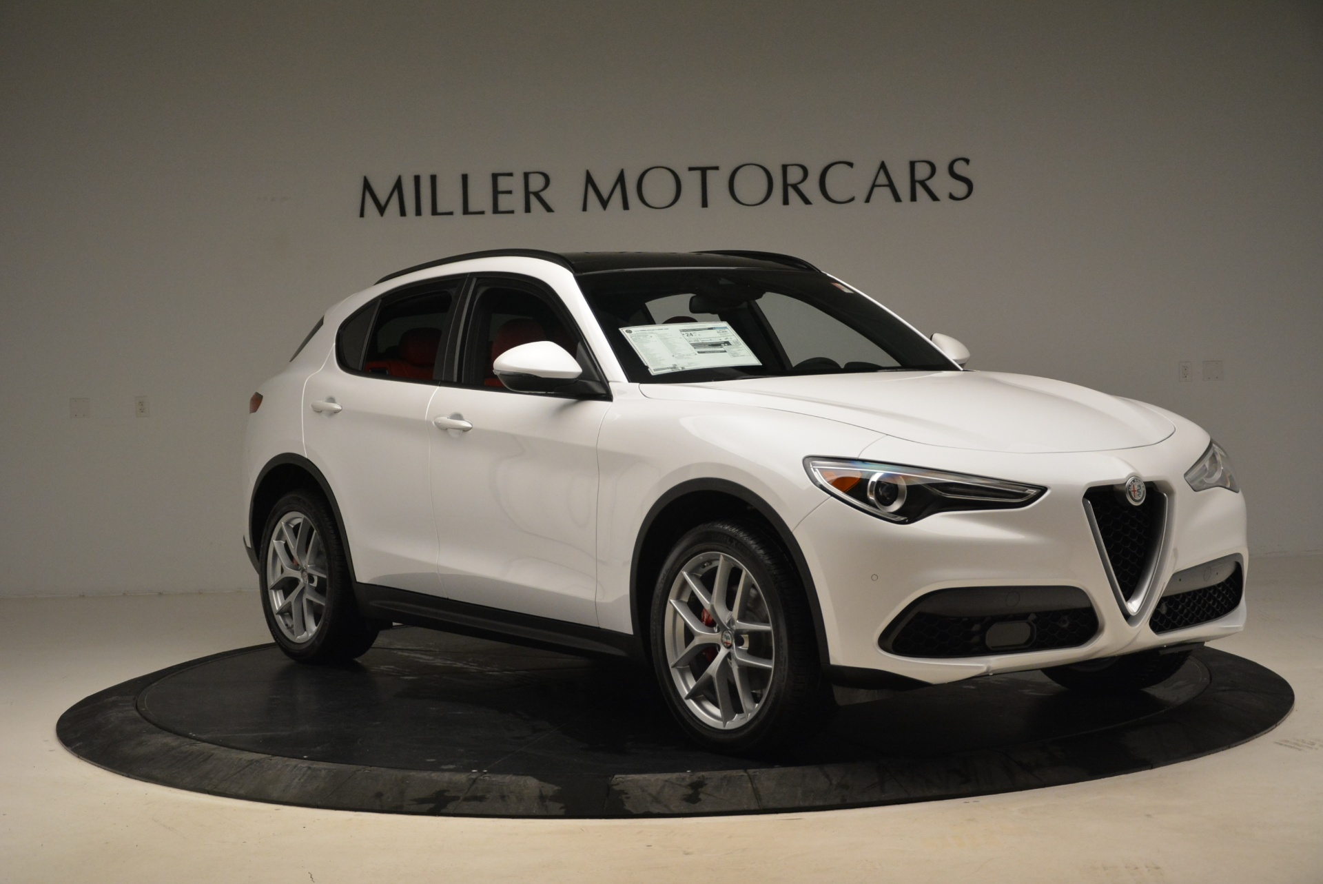 New 2018 Alfa Romeo Stelvio Ti Sport Q4 For Sale In Greenwich, CT 1787_p11