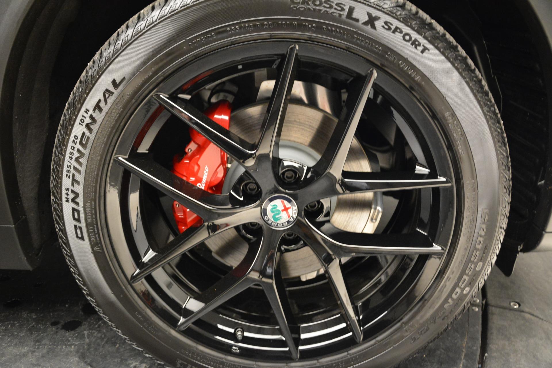 New 2018 Alfa Romeo Stelvio Ti Sport Q4 For Sale In Greenwich, CT 1788_p25