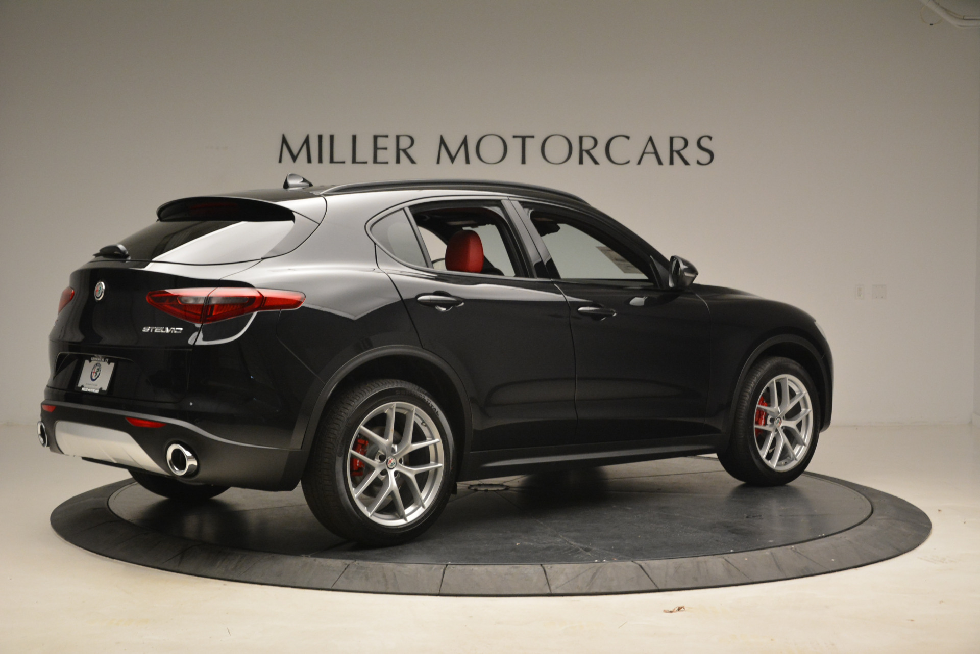 New 2018 Alfa Romeo Stelvio Ti Sport Q4 For Sale In Greenwich, CT 1789_p8