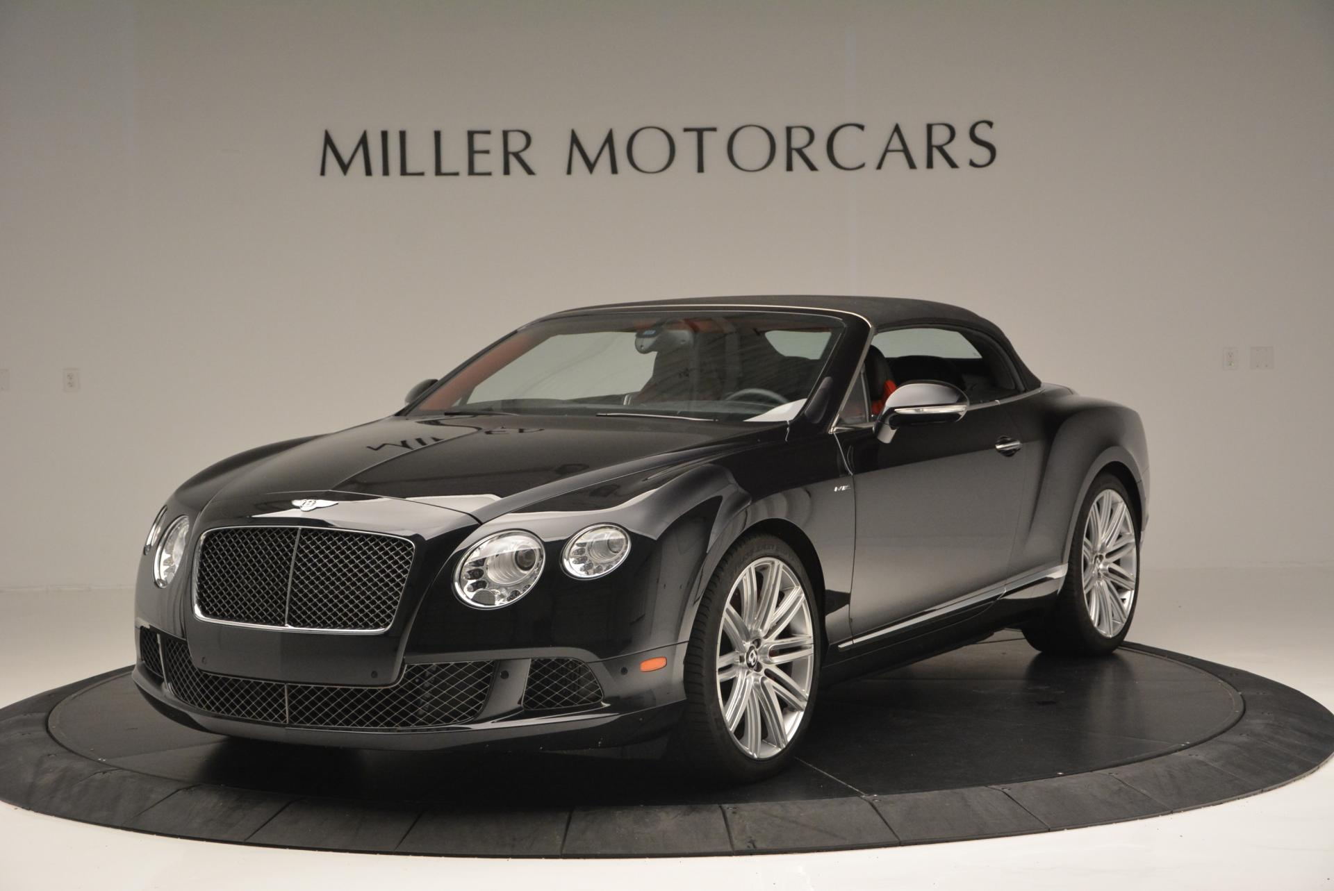 Used 2014 Bentley Continental GT Speed Convertible For Sale In Greenwich, CT 18_p14