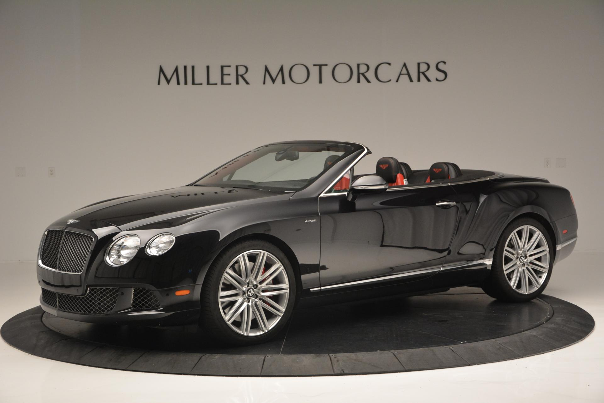 Used 2014 Bentley Continental GT Speed Convertible For Sale In Greenwich, CT 18_p2
