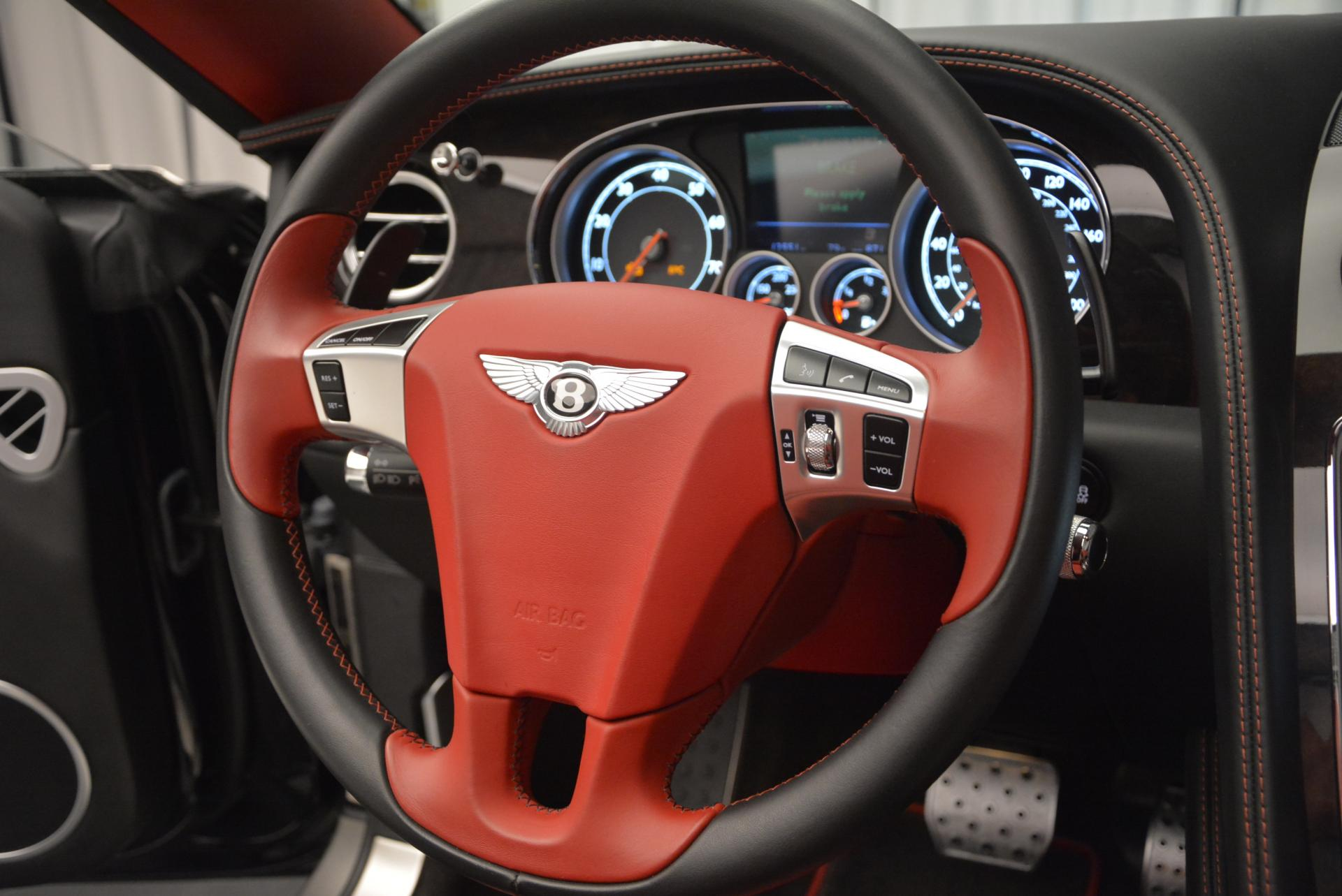 Used 2014 Bentley Continental GT Speed Convertible For Sale In Greenwich, CT 18_p38