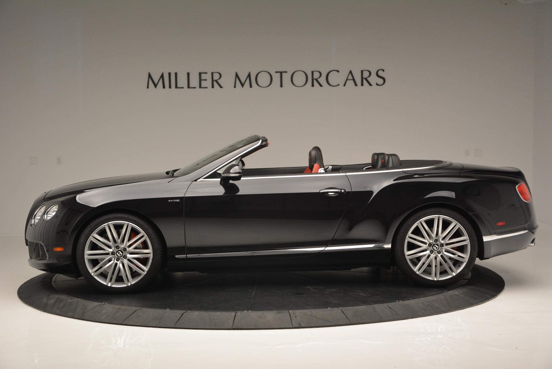 Used 2014 Bentley Continental GT Speed Convertible For Sale In Greenwich, CT 18_p3