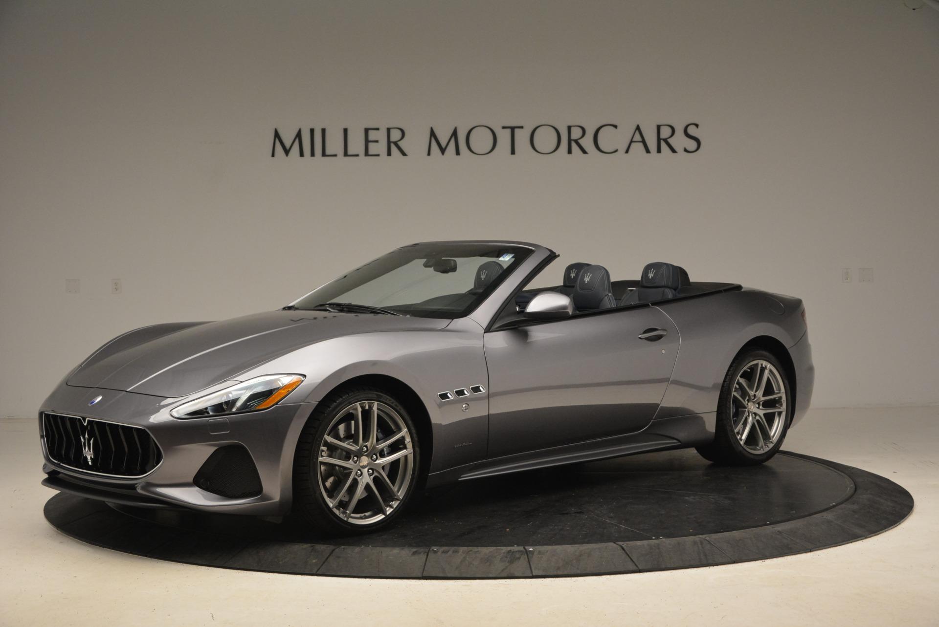 New 2018 Maserati GranTurismo Sport Convertible For Sale In Greenwich, CT 1802_main