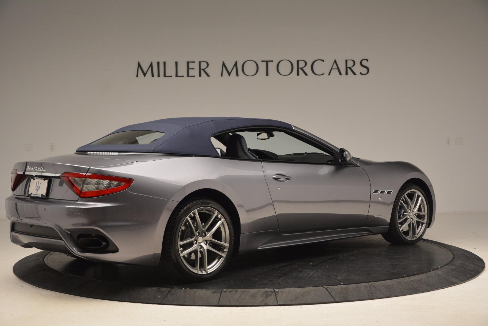 New 2018 Maserati GranTurismo Sport Convertible For Sale In Greenwich, CT 1802_p15