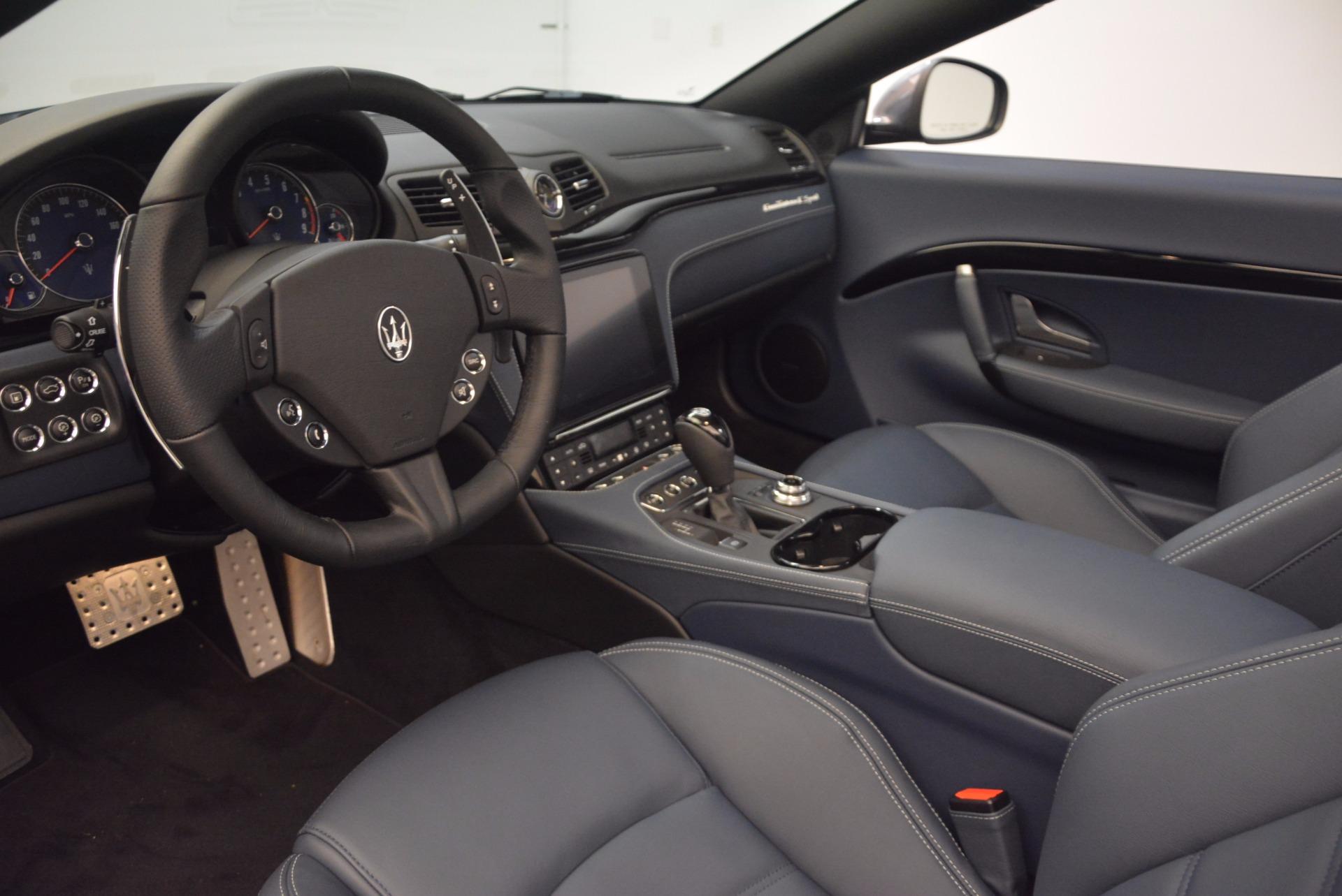 New 2018 Maserati GranTurismo Sport Convertible For Sale In Greenwich, CT 1802_p25
