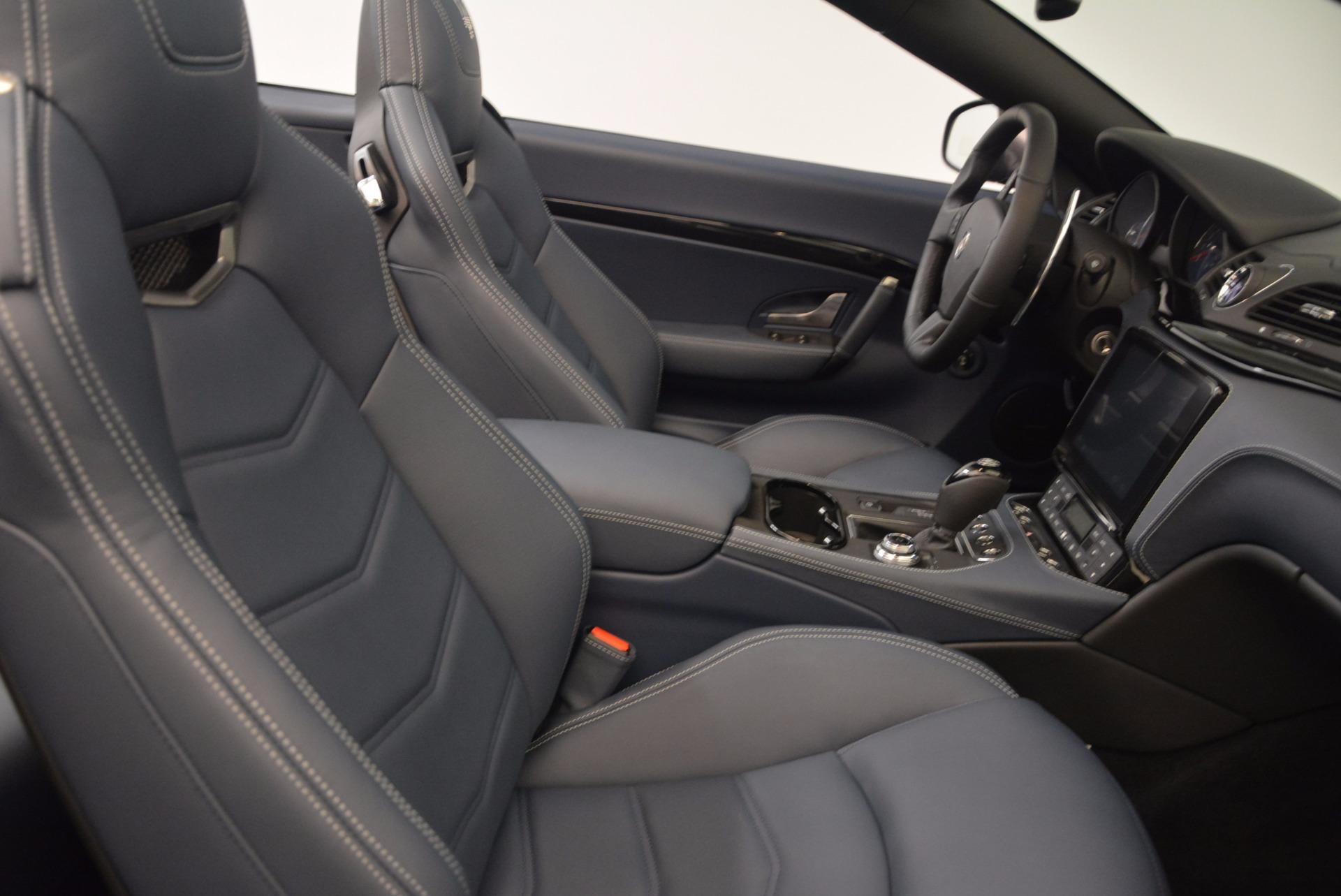 New 2018 Maserati GranTurismo Sport Convertible For Sale In Greenwich, CT 1802_p28