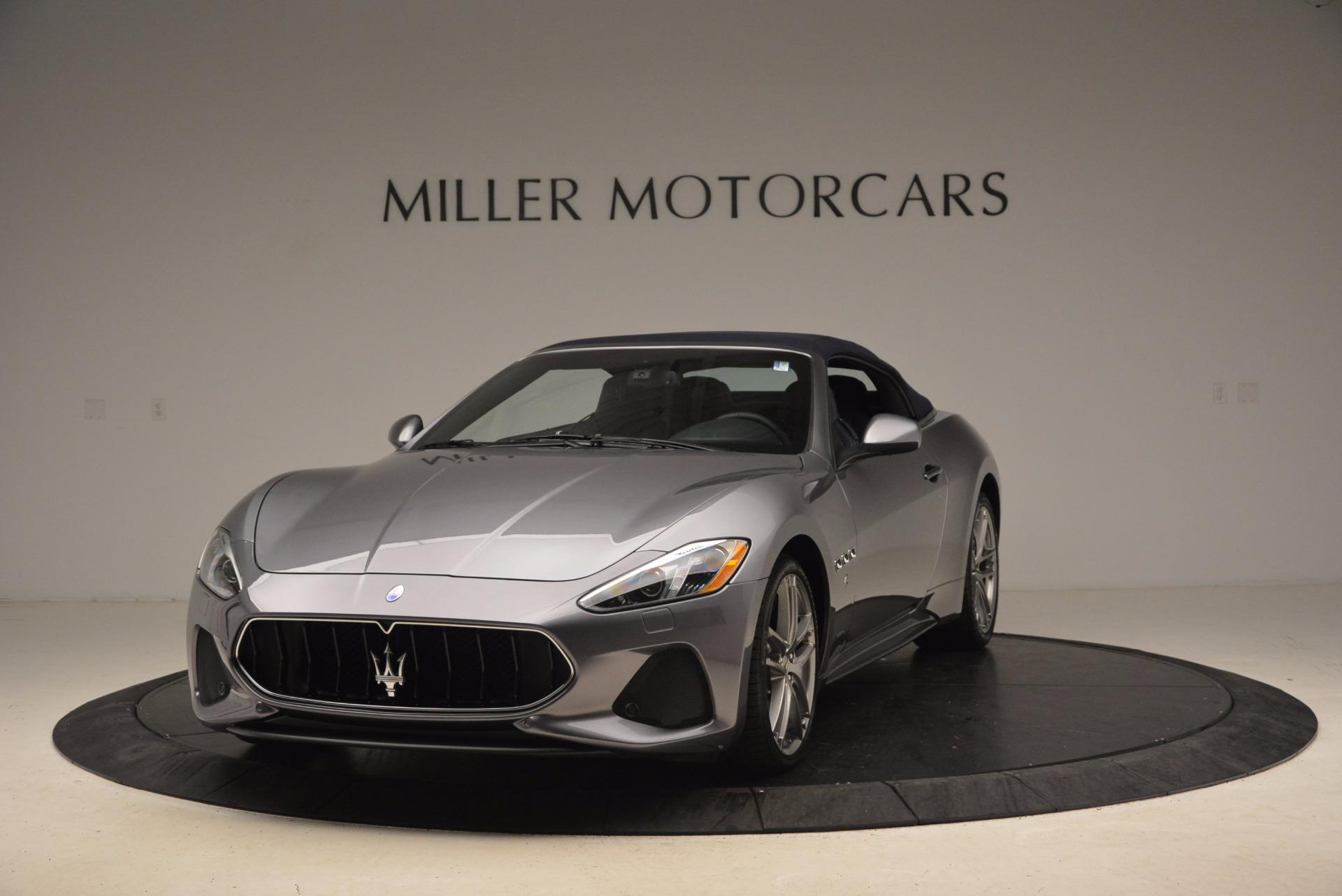 New 2018 Maserati GranTurismo Sport Convertible For Sale In Greenwich, CT 1802_p2