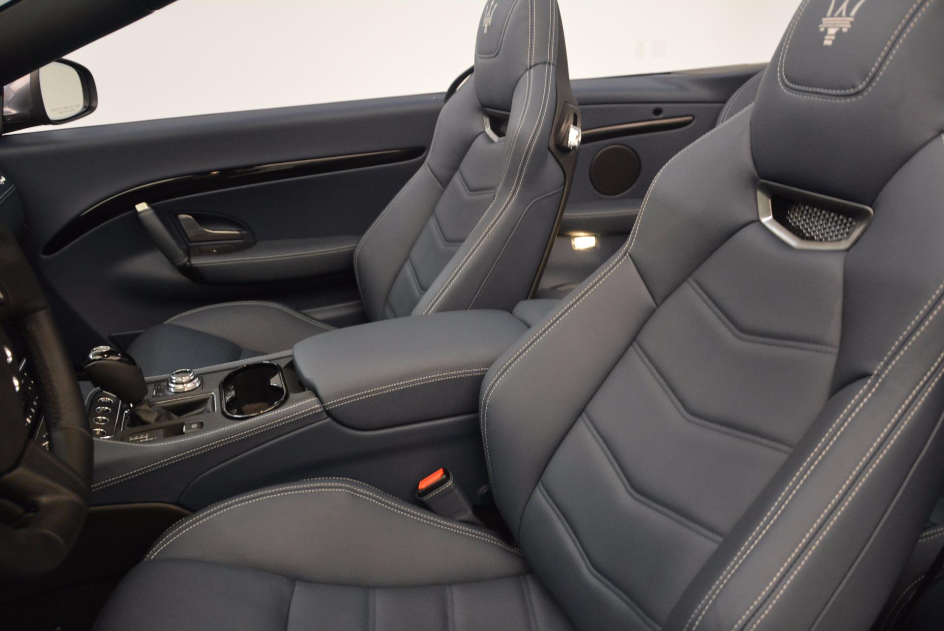 New 2018 Maserati GranTurismo Sport Convertible For Sale In Greenwich, CT 1802_p30