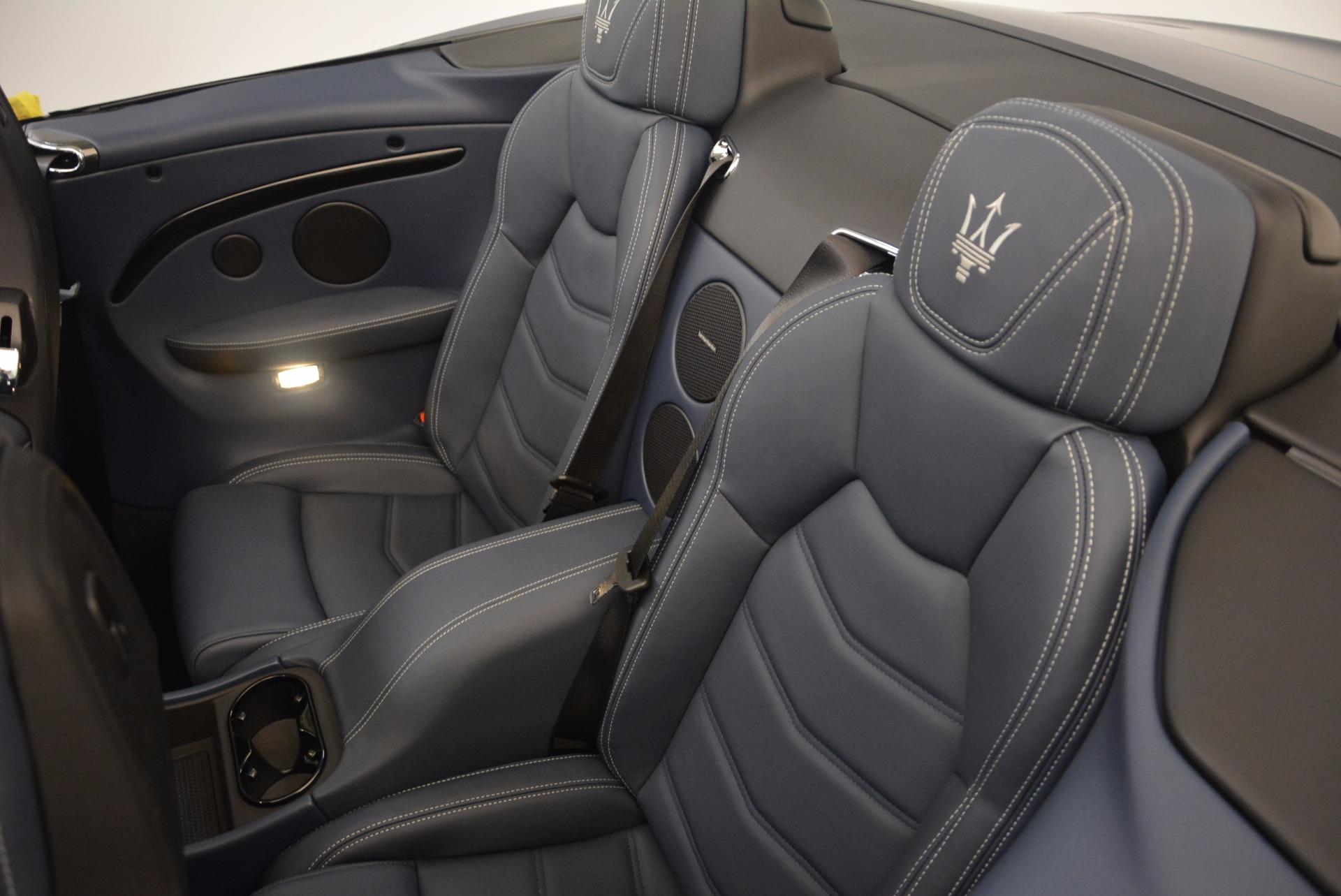 New 2018 Maserati GranTurismo Sport Convertible For Sale In Greenwich, CT 1802_p32