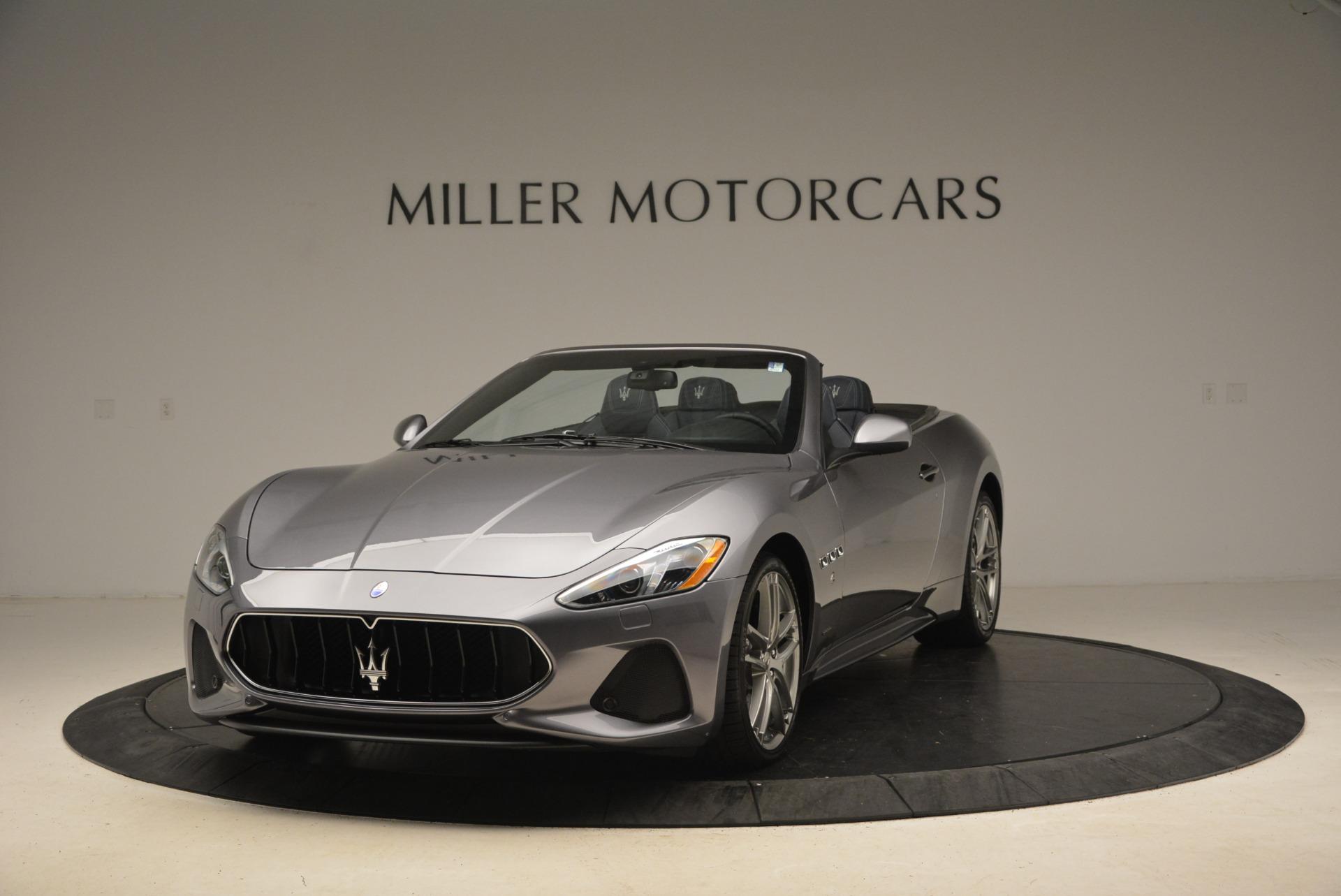 New 2018 Maserati GranTurismo Sport Convertible For Sale In Greenwich, CT 1802_p3