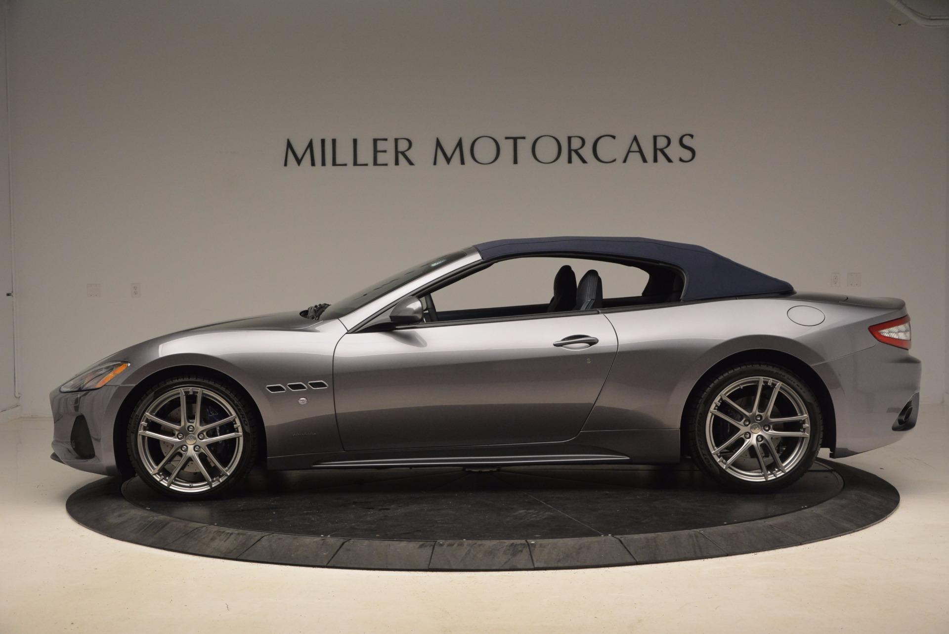 New 2018 Maserati GranTurismo Sport Convertible For Sale In Greenwich, CT 1802_p5