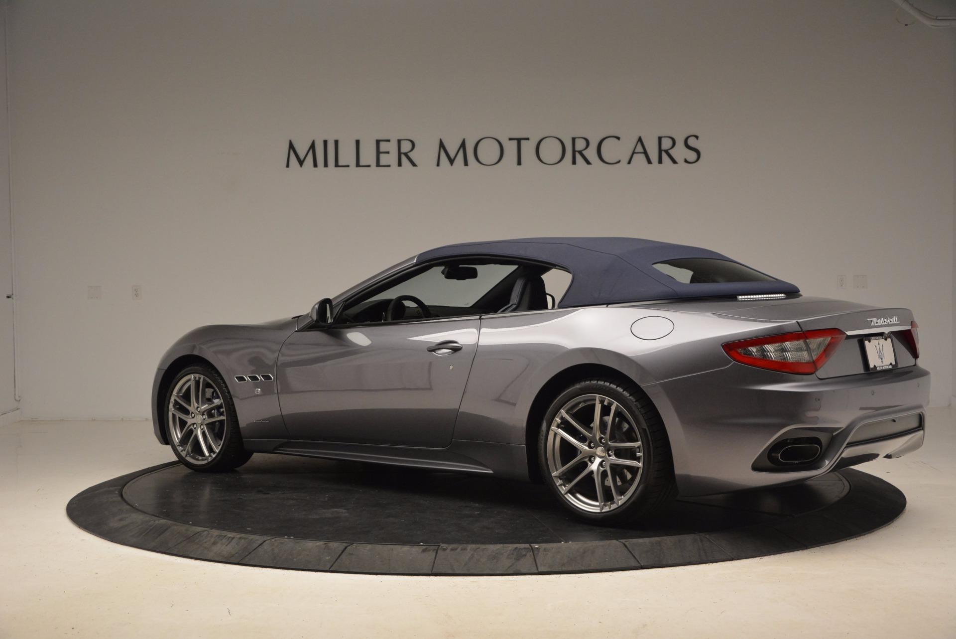 New 2018 Maserati GranTurismo Sport Convertible For Sale In Greenwich, CT 1802_p7