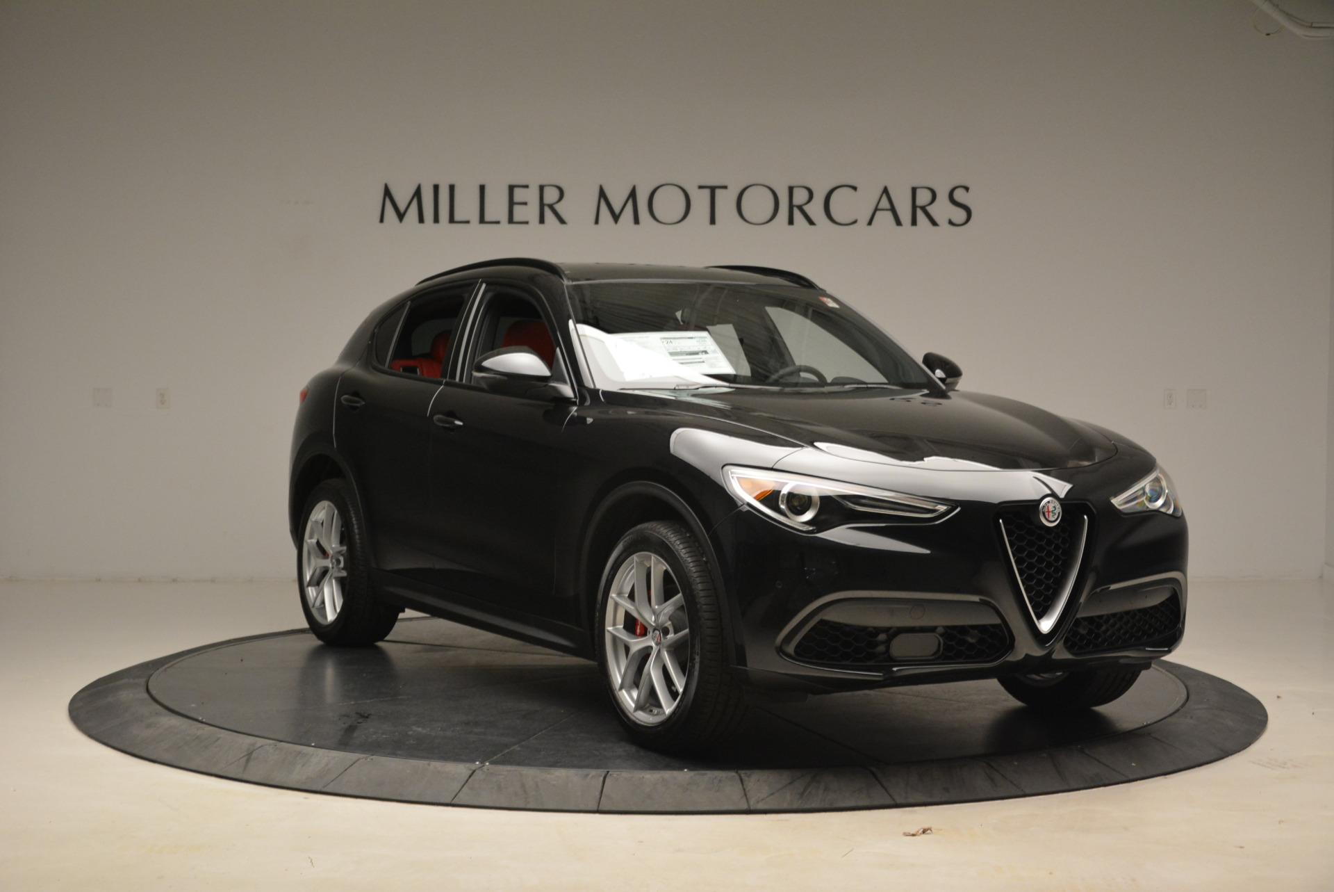 New 2018 Alfa Romeo Stelvio Ti Sport Q4 For Sale In Greenwich, CT 1804_p11