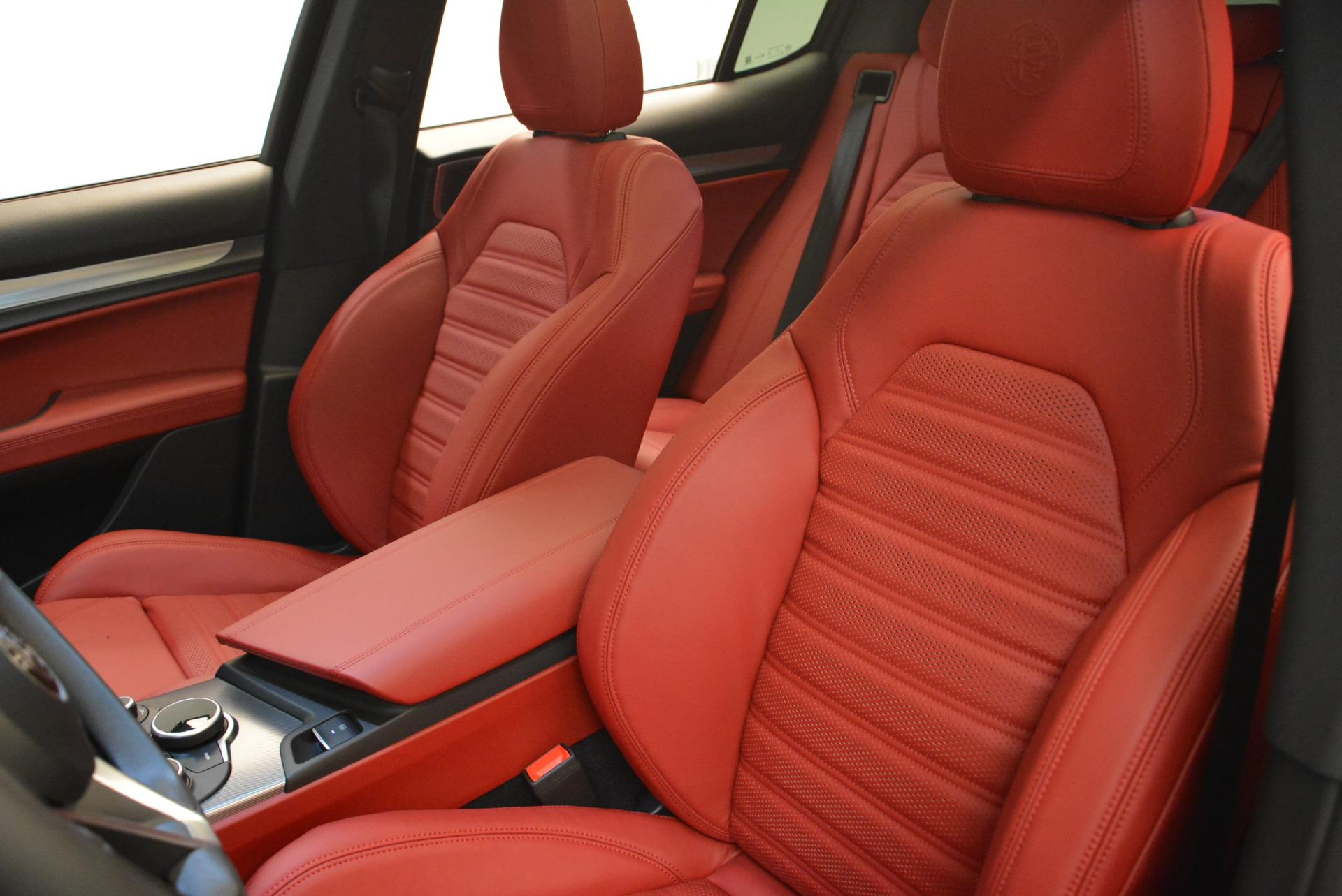 New 2018 Alfa Romeo Stelvio Ti Sport Q4 For Sale In Greenwich, CT 1804_p15