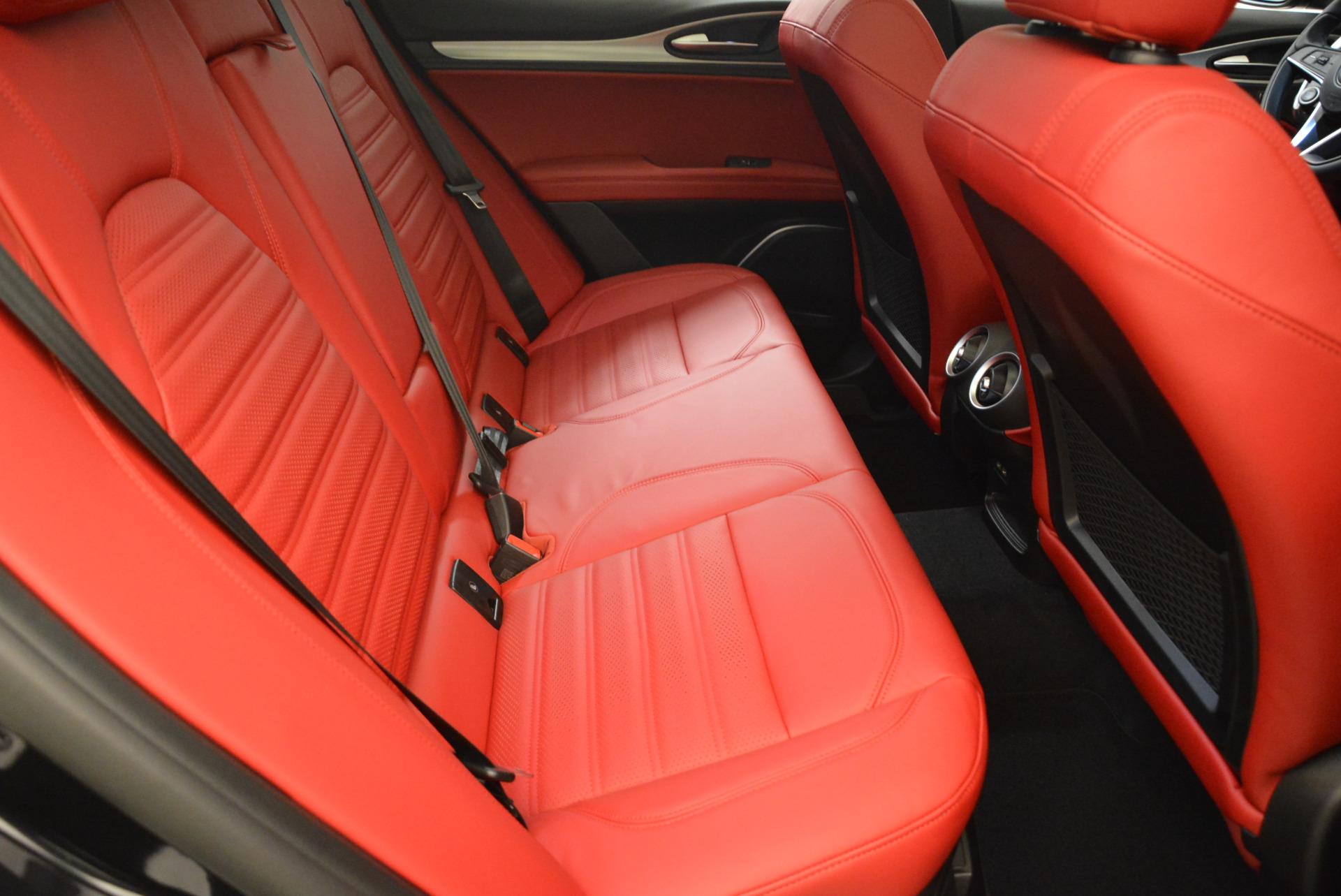 New 2018 Alfa Romeo Stelvio Ti Sport Q4 For Sale In Greenwich, CT 1804_p20