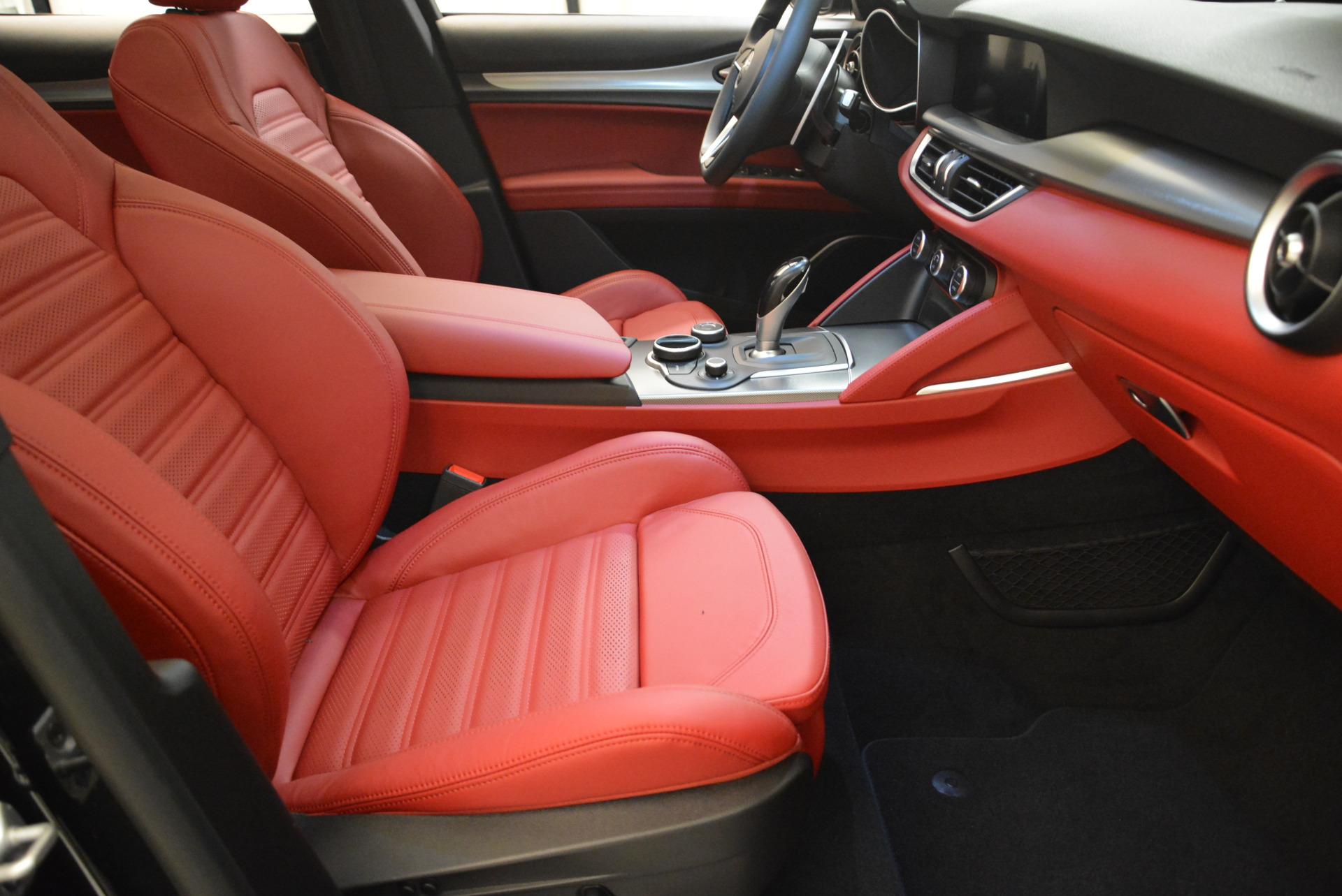 New 2018 Alfa Romeo Stelvio Ti Sport Q4 For Sale In Greenwich, CT 1804_p23