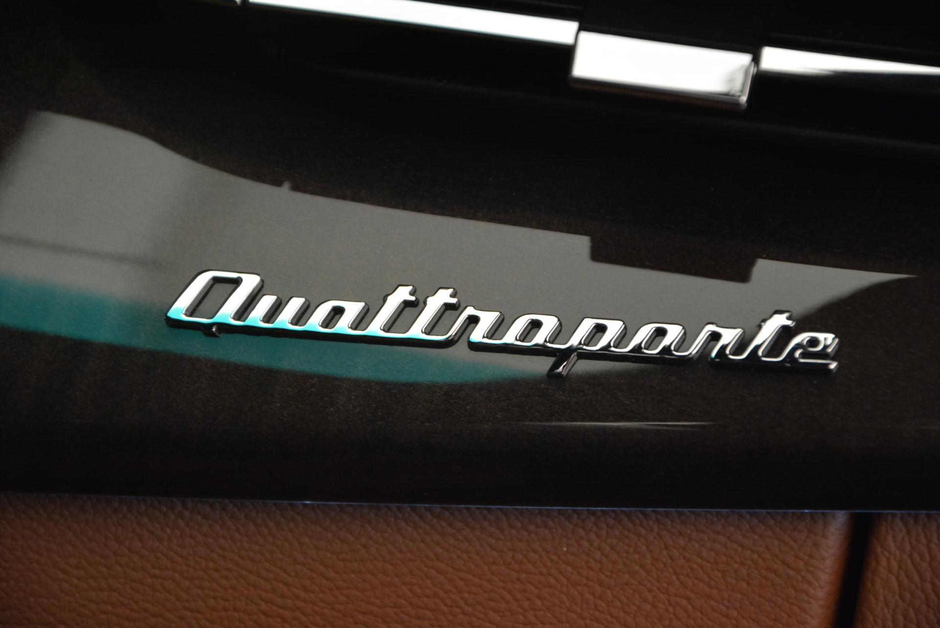New 2016 Maserati Quattroporte S Q4 For Sale In Greenwich, CT 181_p20