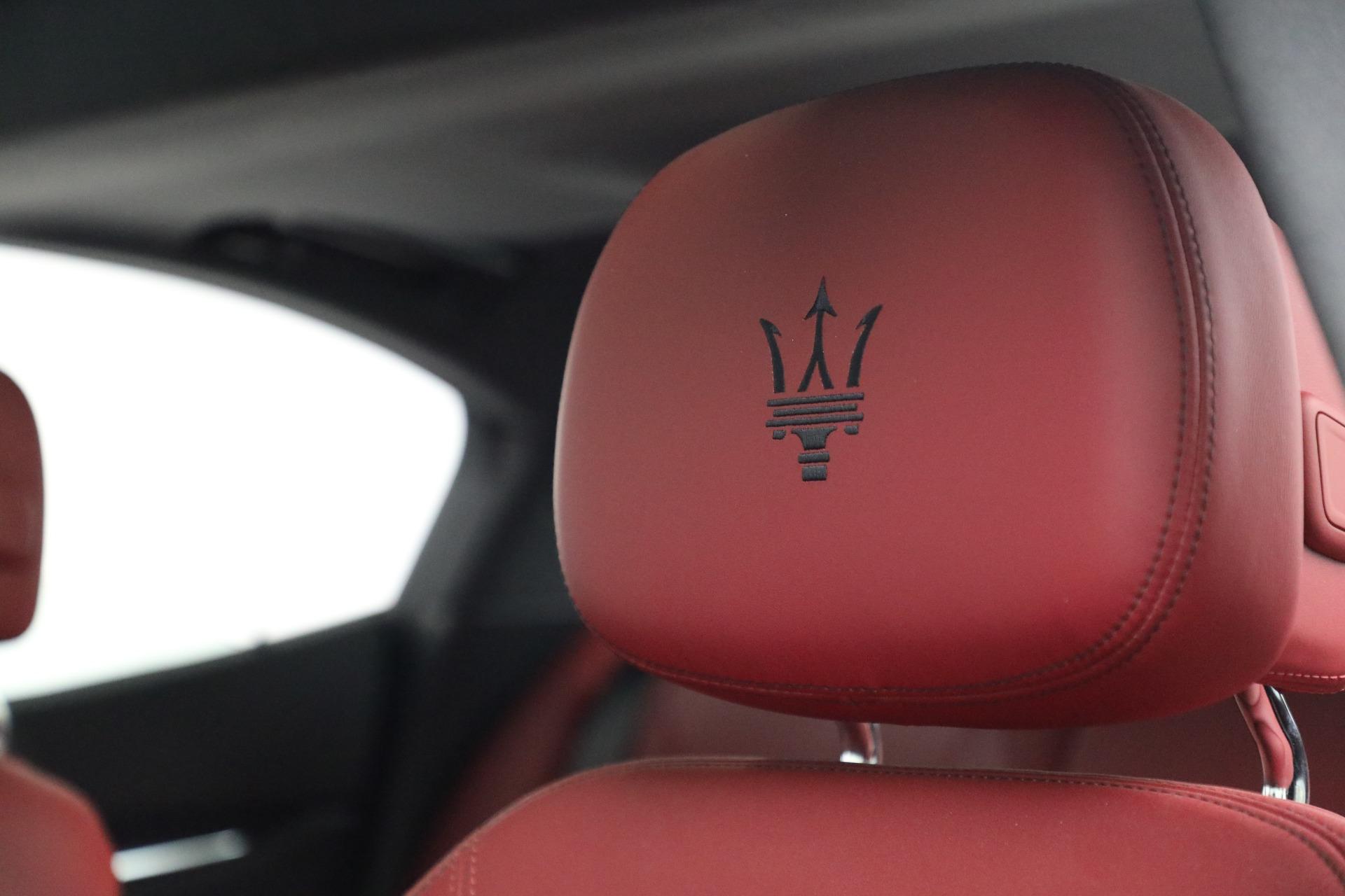 New 2018 Maserati Ghibli S Q4 GranLusso For Sale In Greenwich, CT 1810_p16