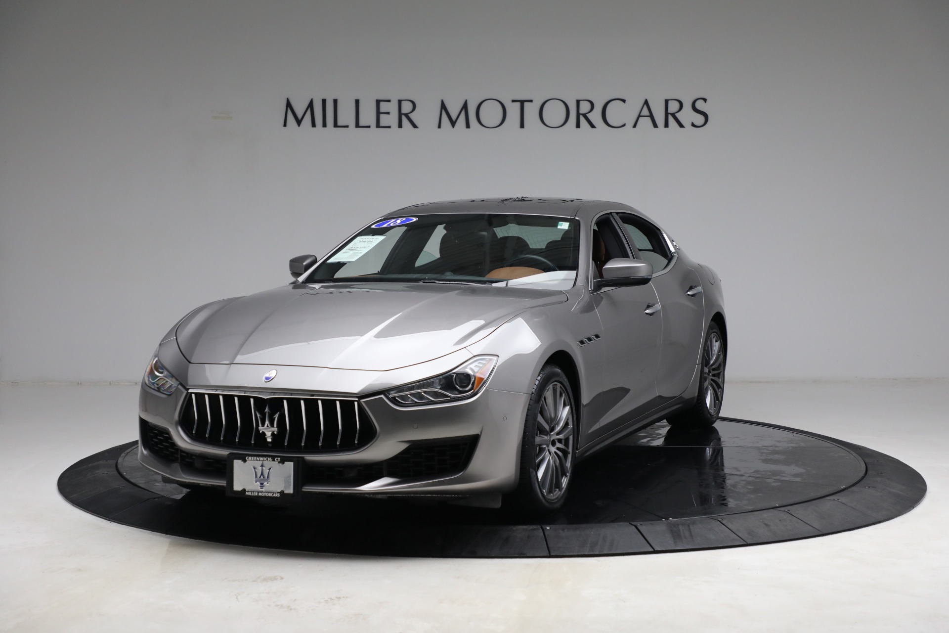 New 2018 Maserati Ghibli S Q4 For Sale In Greenwich, CT 1819_main