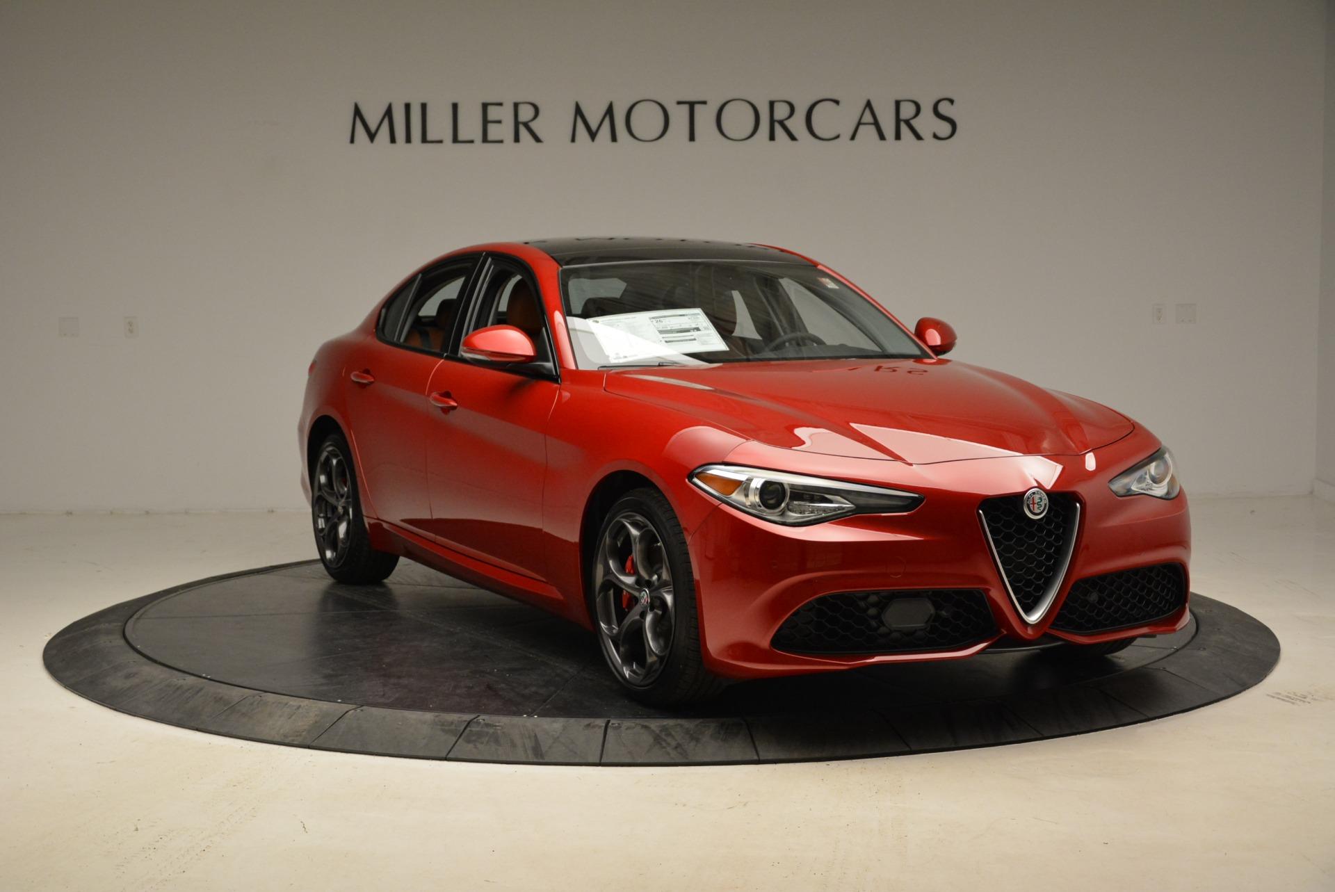 New 2018 Alfa Romeo Giulia Ti Sport Q4 For Sale In Greenwich, CT 1823_p11