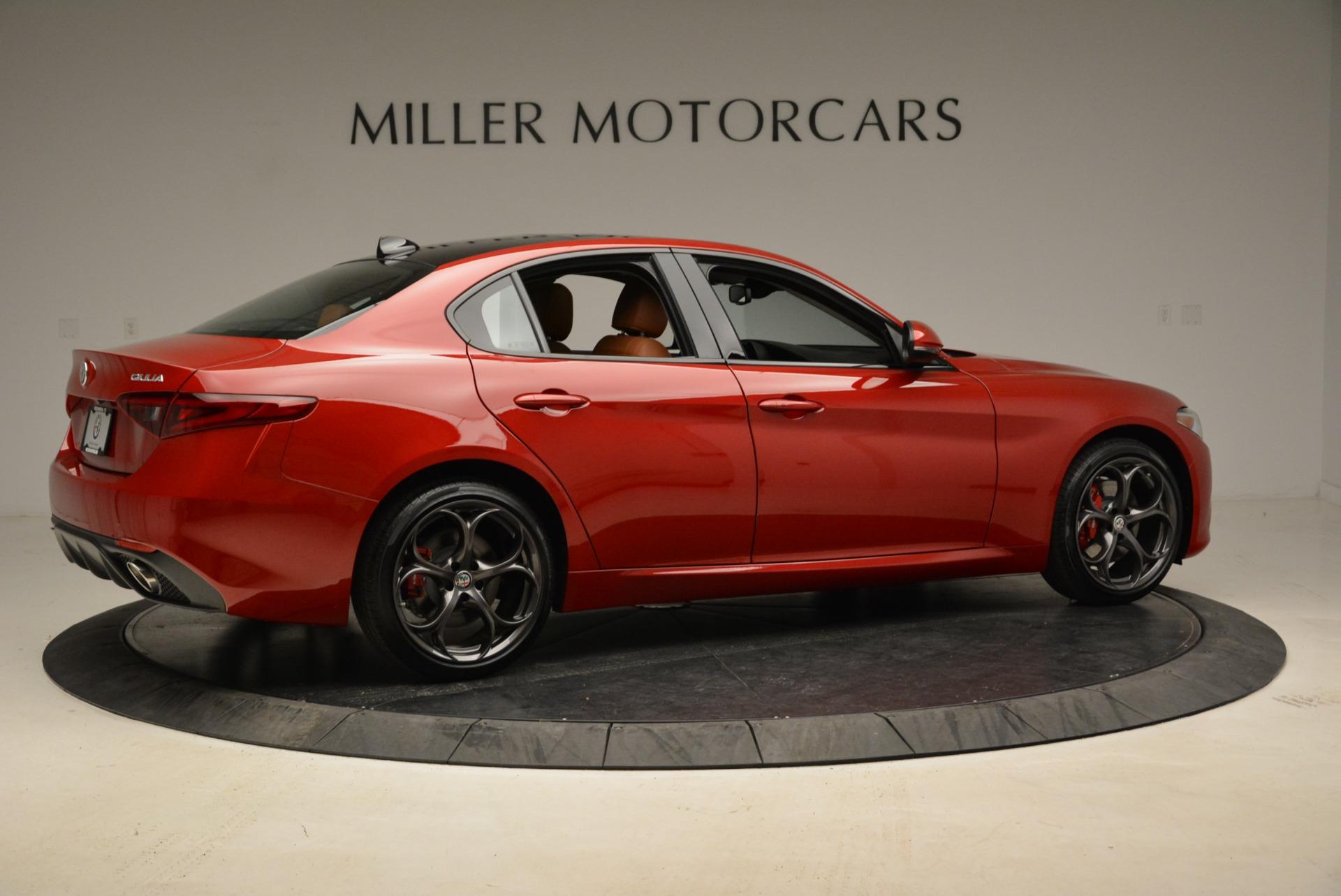 New 2018 Alfa Romeo Giulia Ti Sport Q4 For Sale In Greenwich, CT 1823_p8