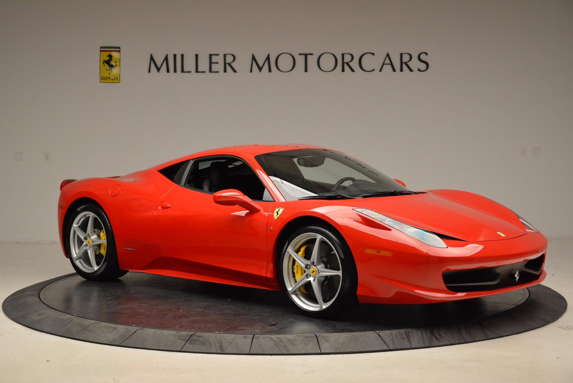 Used 2012 Ferrari 458 Italia  For Sale In Greenwich, CT 1833_p10