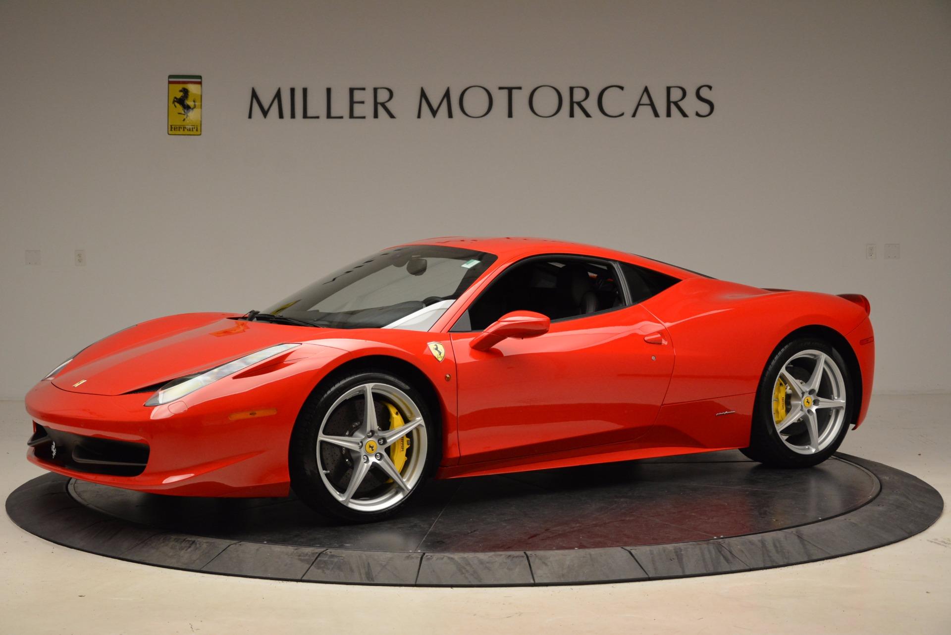 Used 2012 Ferrari 458 Italia  For Sale In Greenwich, CT 1833_p2